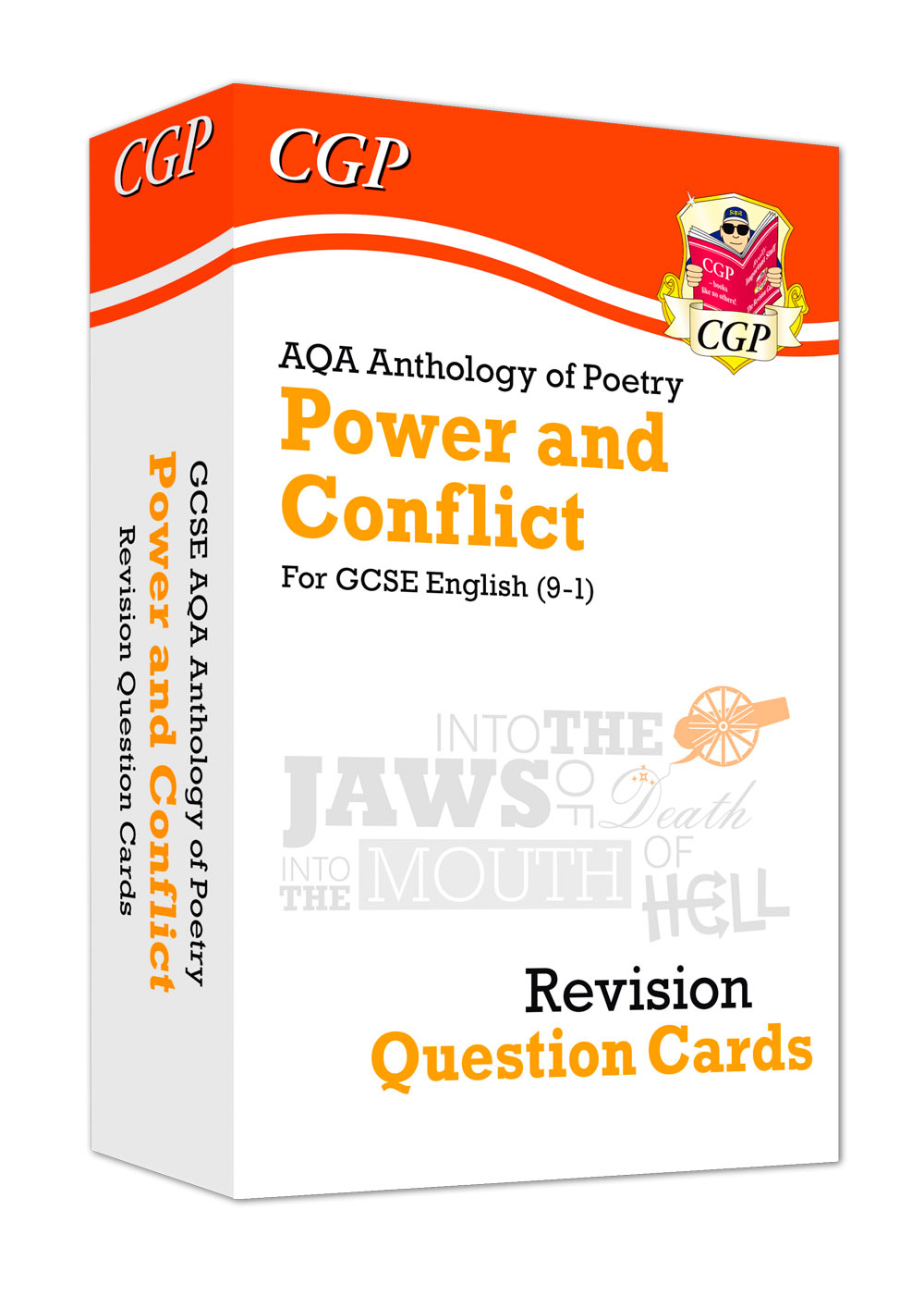 ACHF41 - New 9-1 GCSE English: AQA Power & Conflict Poetry Anthology - Revision Question Cards