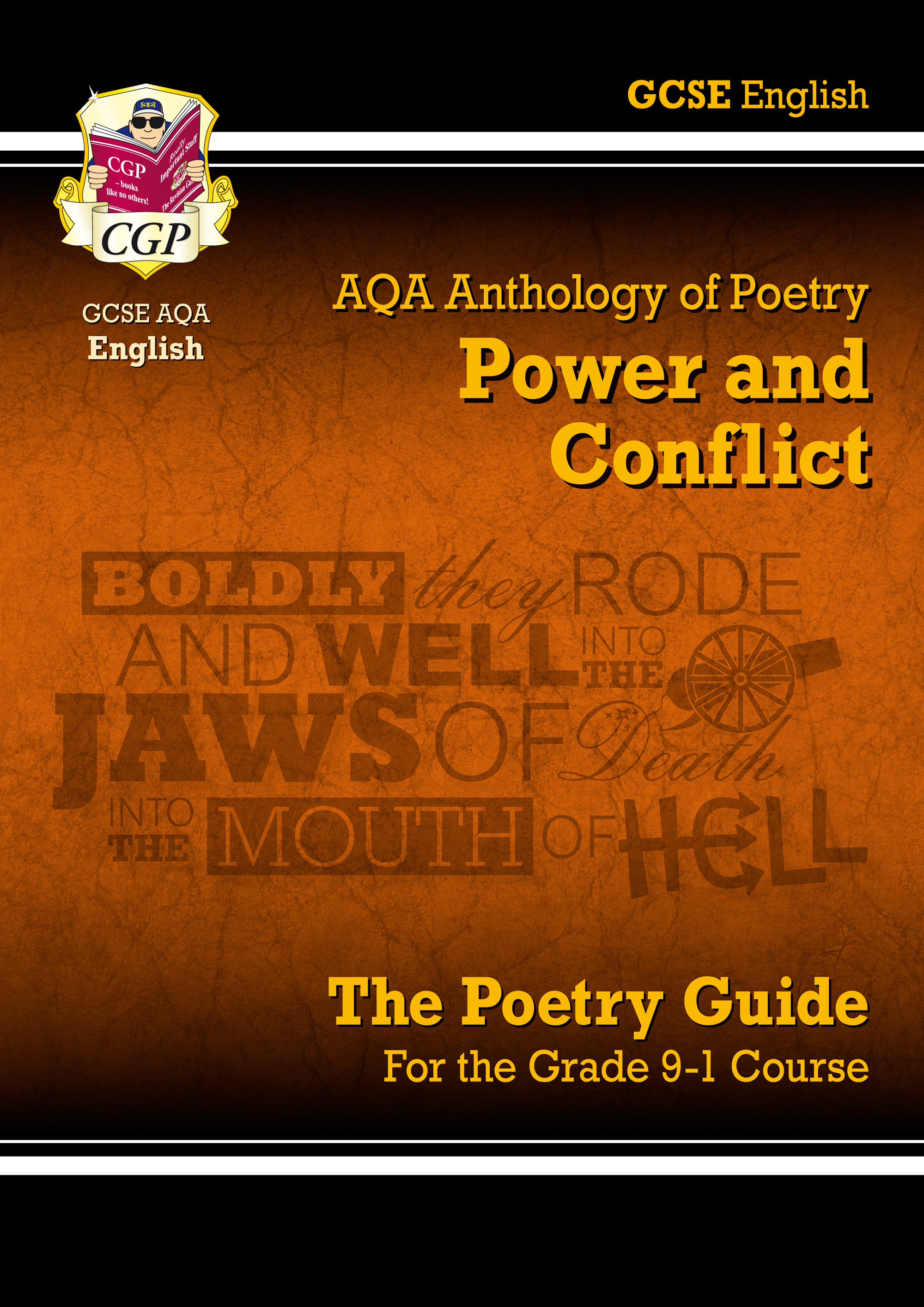 ACHR43 - GCSE English Literature AQA Poetry Guide: Power & Conflict Anthology - for the Grade 9-1 Co