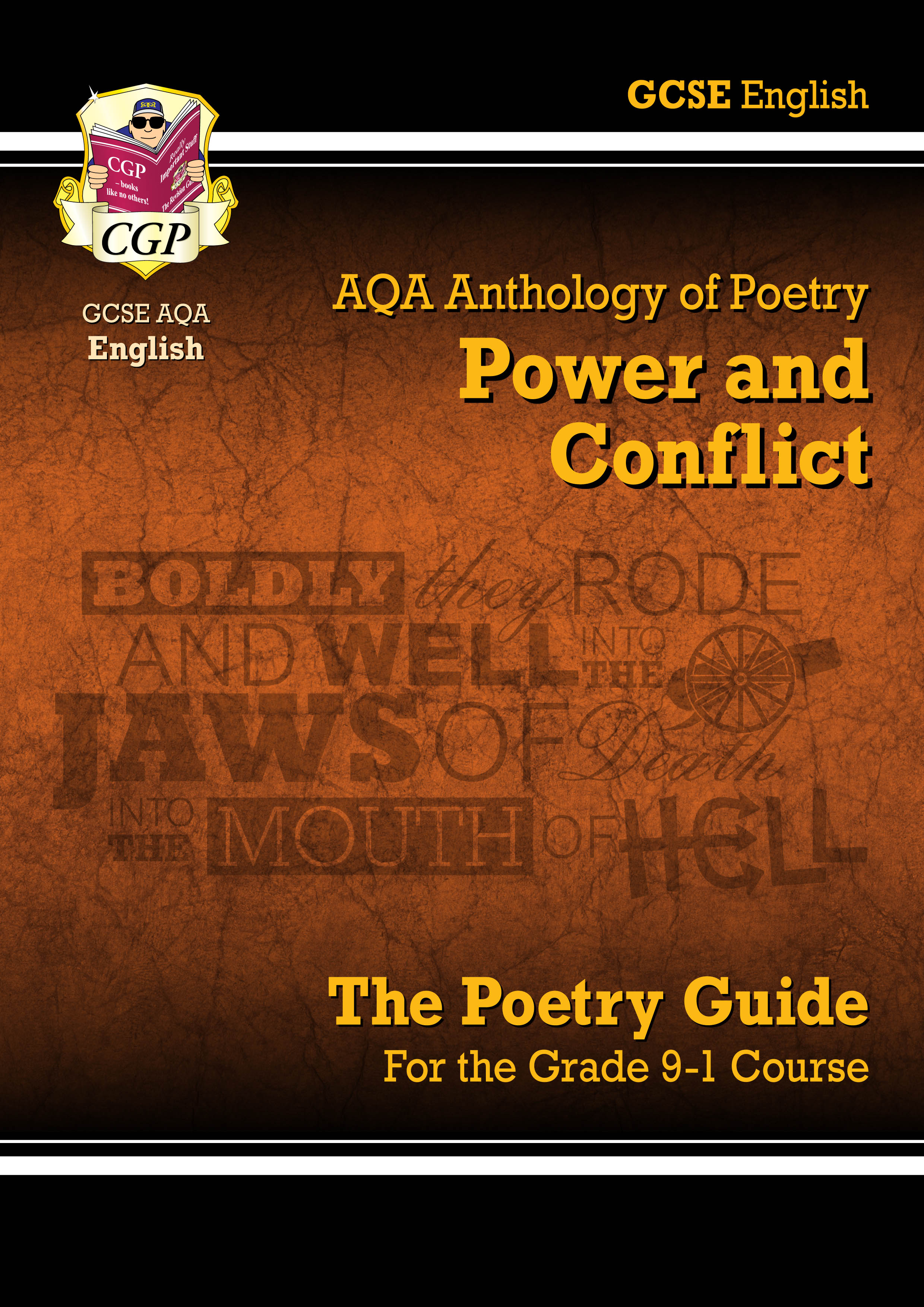 ACHR43DK - New GCSE English Literature AQA Poetry Guide: Power & Conflict Anthology - for the Grade
