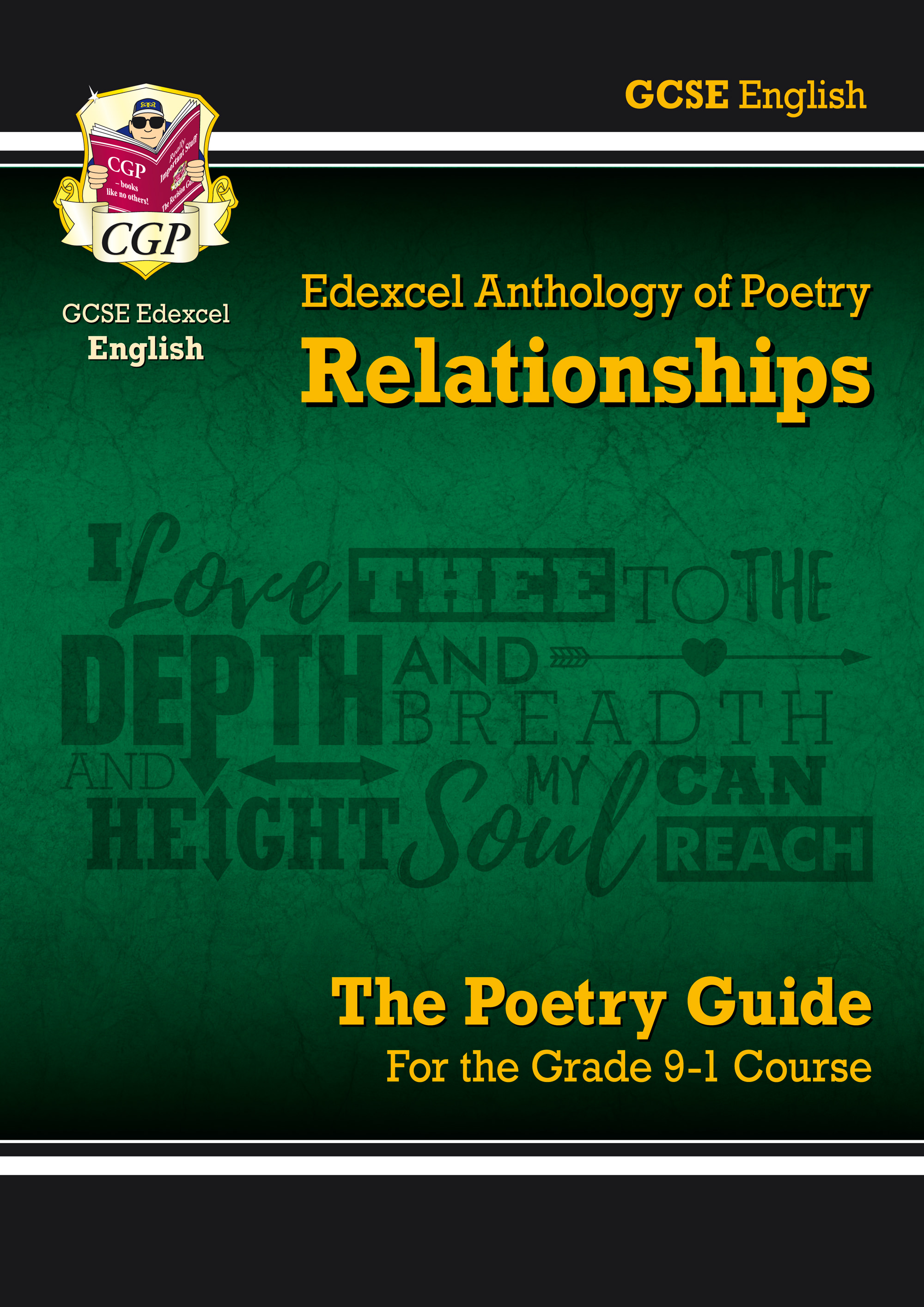 AREHR41 - New GCSE English Literature Edexcel Poetry Guide: Relationships Anthology - for the Grade