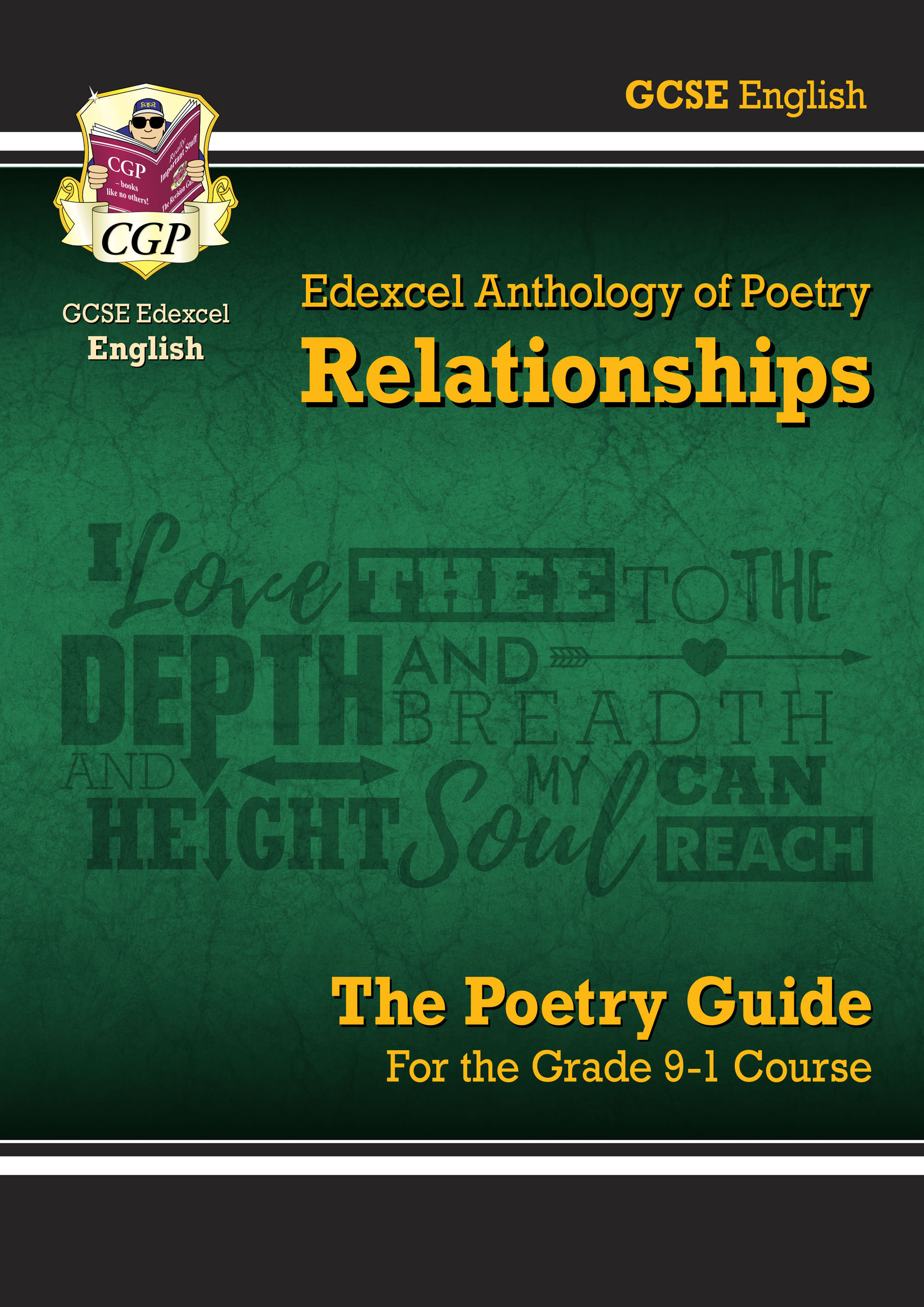 AREHR41DK - New GCSE English Literature Edexcel Poetry Guide: Relationships Anthology - for the Grad