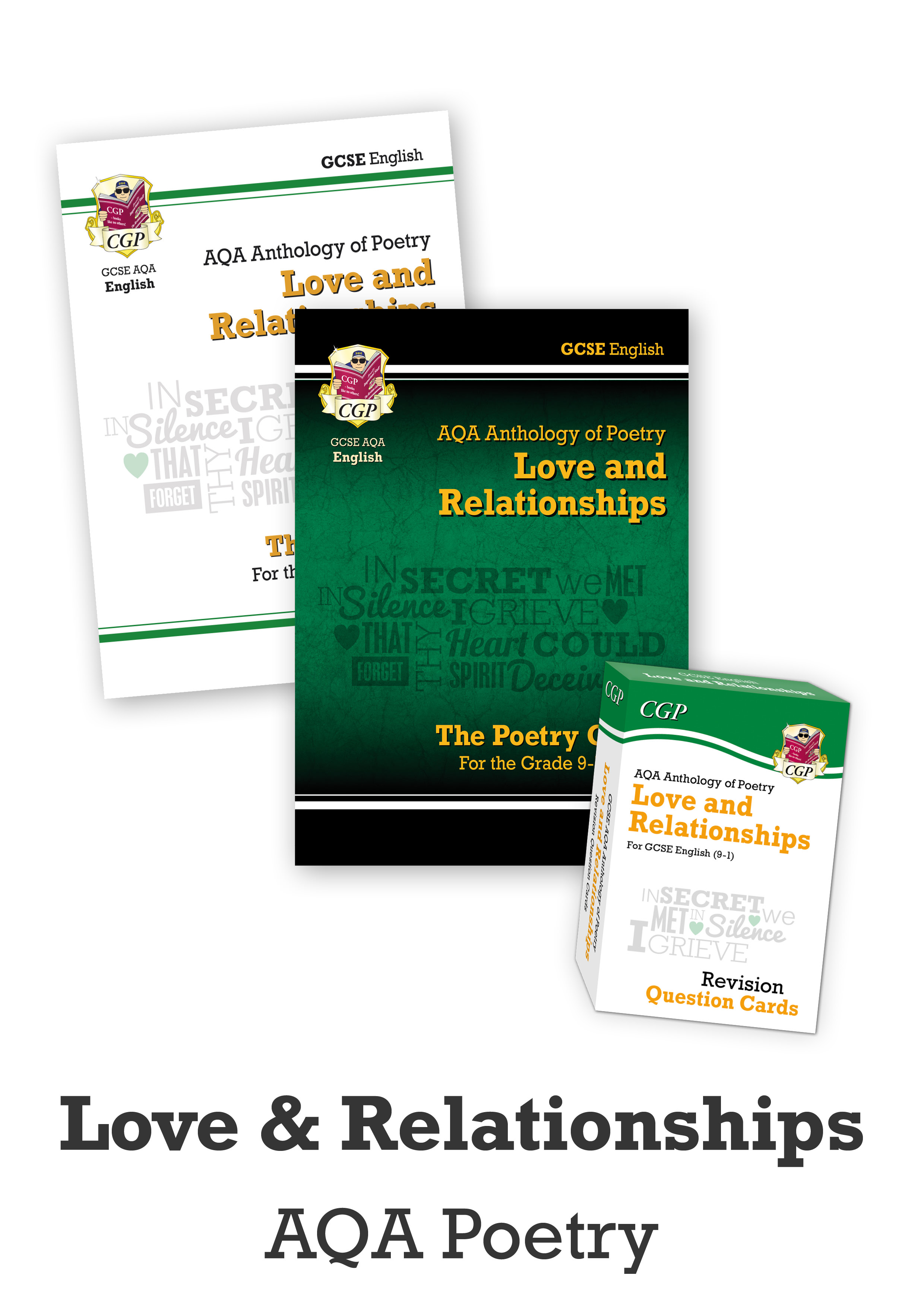 ARHCUB41 - GCSE Home Learning Essentials Bundle: English Literature AQA Poetry - Love & Relationship