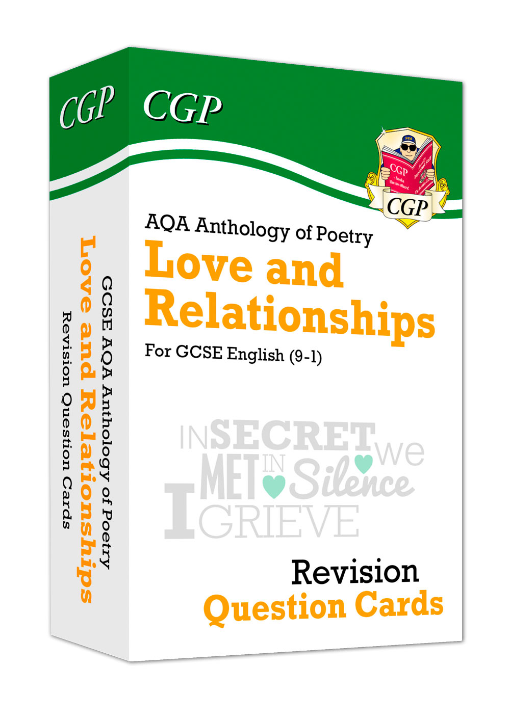 ARHF41 - New 9-1 GCSE English: AQA Love & Relationships Poetry Anthology - Revision Question Cards
