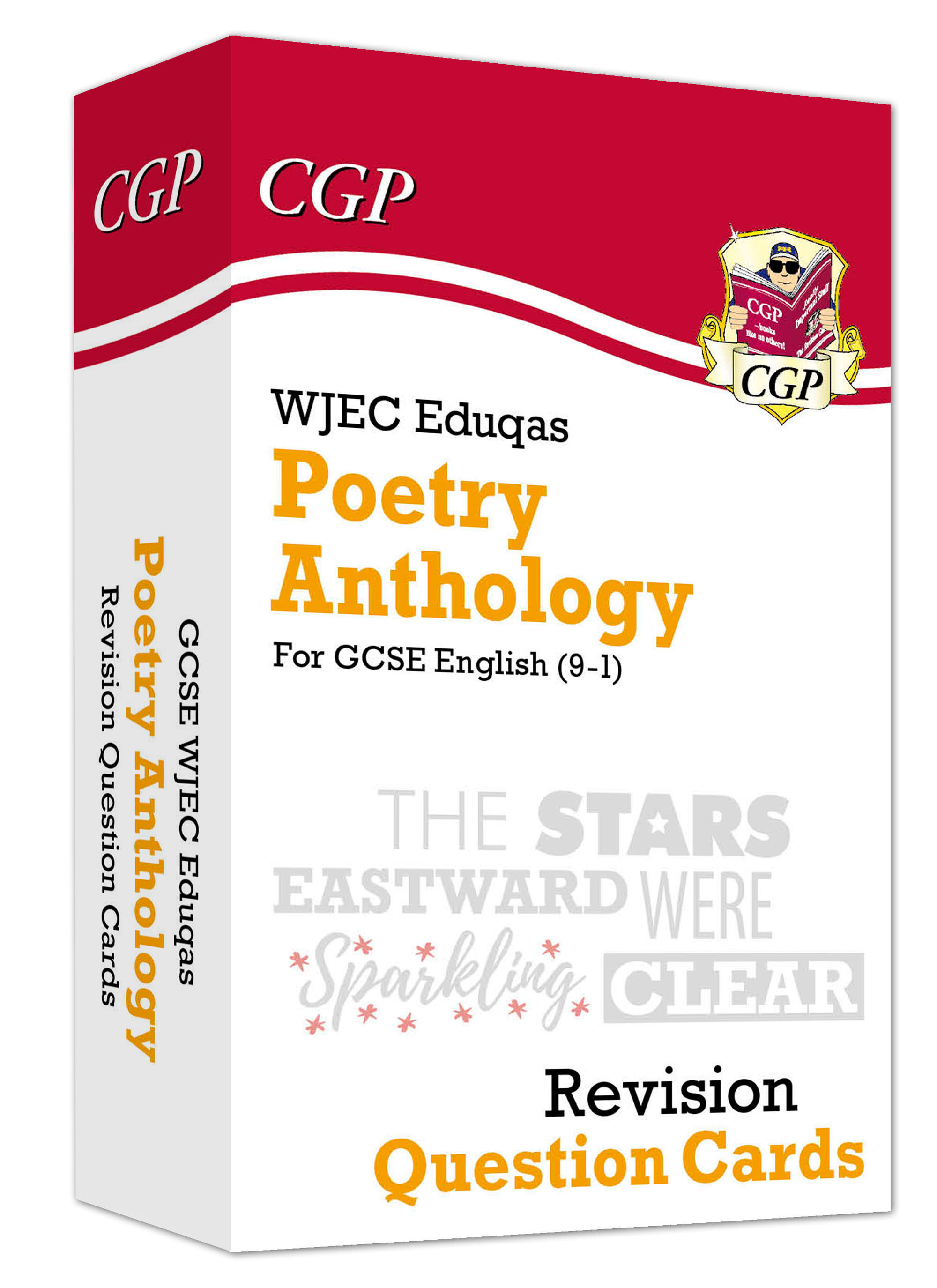 AWHF41 - New Grade 9-1 GCSE English: WJEC Eduqas Poetry Anthology - Revision Question Cards