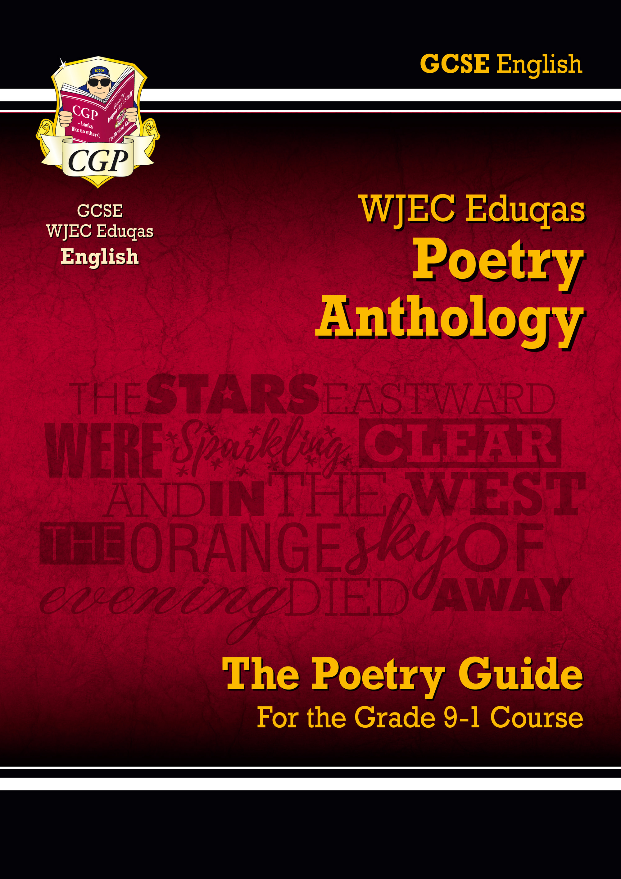 AWHR41 - GCSE English Literature WJEC Eduqas Anthology Poetry Guide - for the Grade 9-1 Course