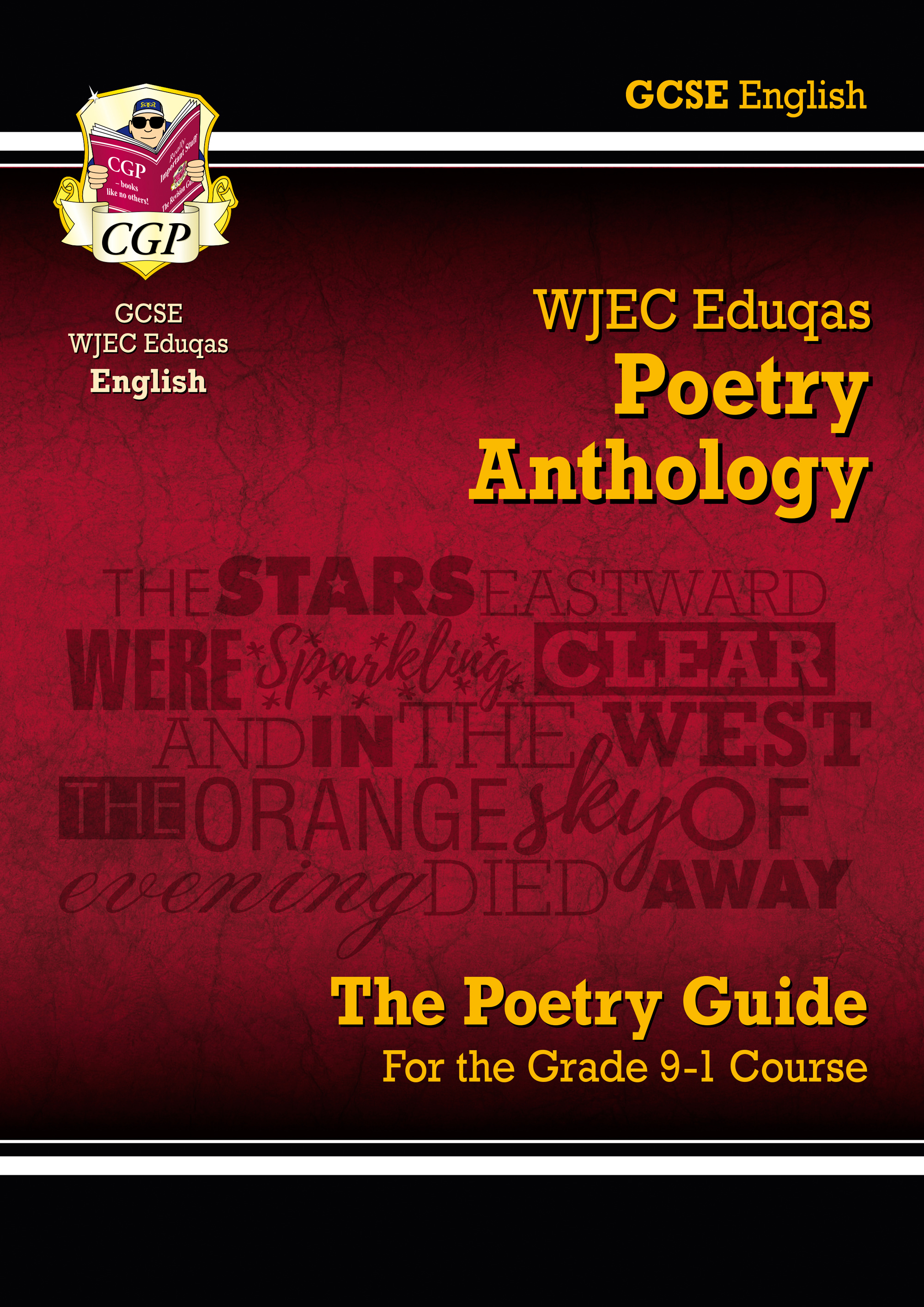 AWHR41DK - New GCSE English Literature WJEC Eduqas Anthology Poetry Guide - for the Grade 9-1 Course