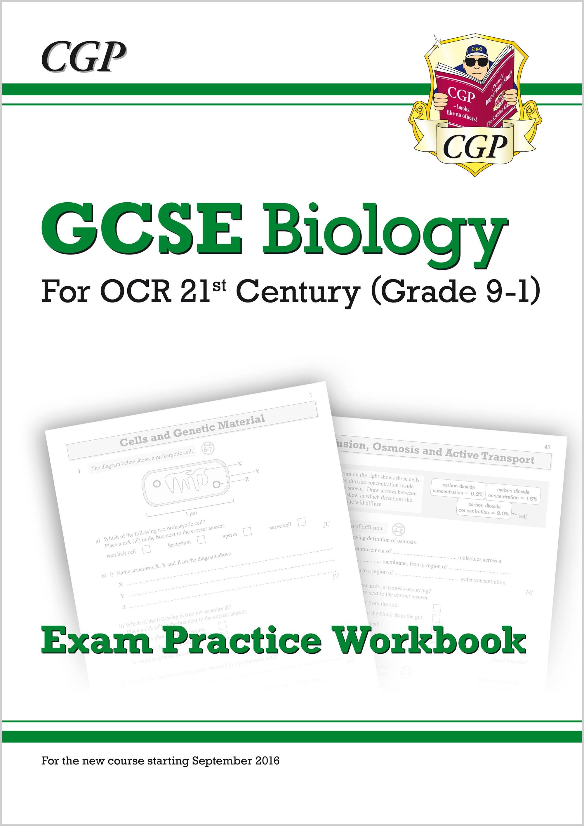 B2Q41 - New Grade 9-1 GCSE Biology: OCR 21st Century Exam Practice Workbook