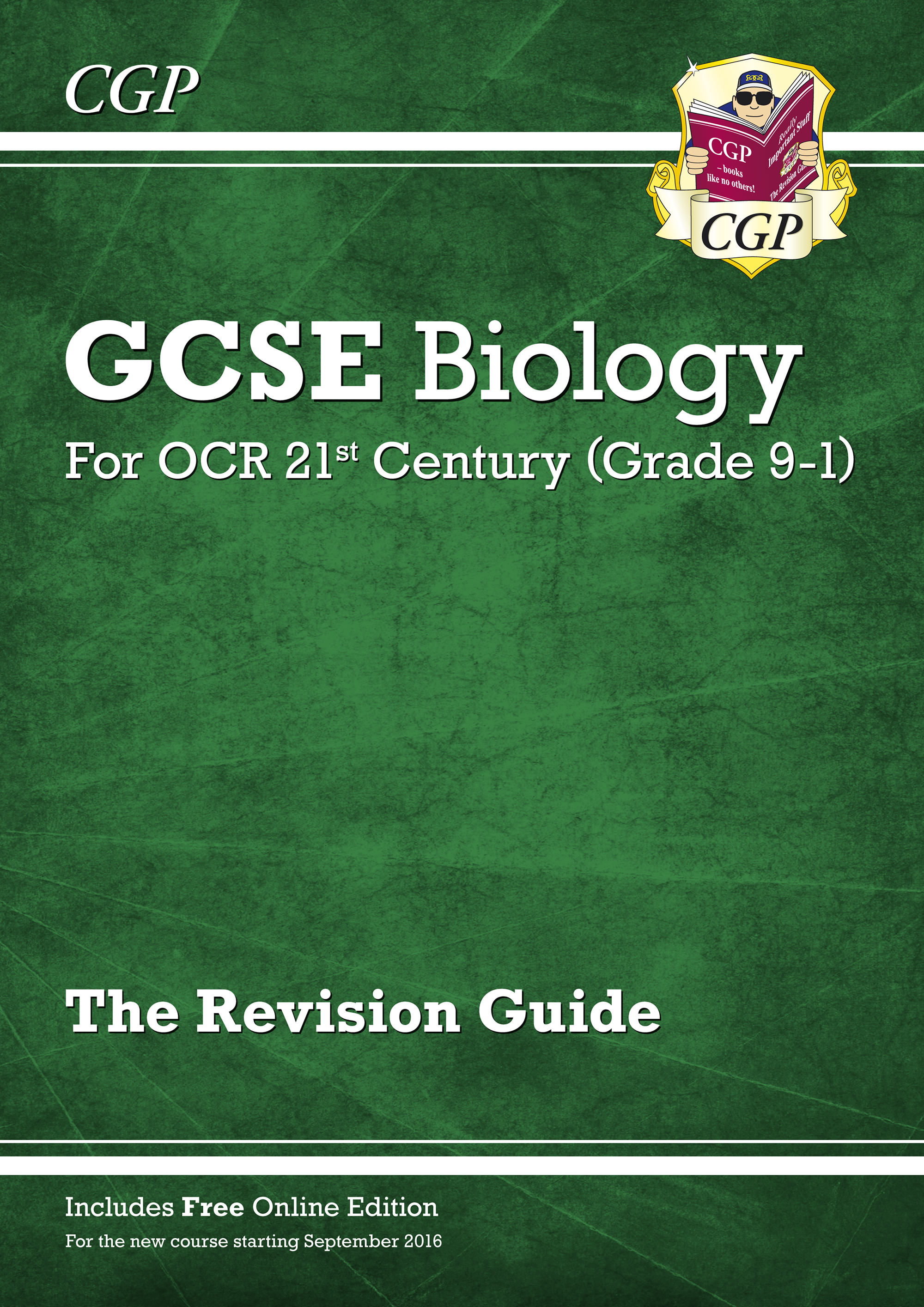 B2R45 - Grade 9-1 GCSE Biology: OCR 21st Century Revision Guide with Online Edition
