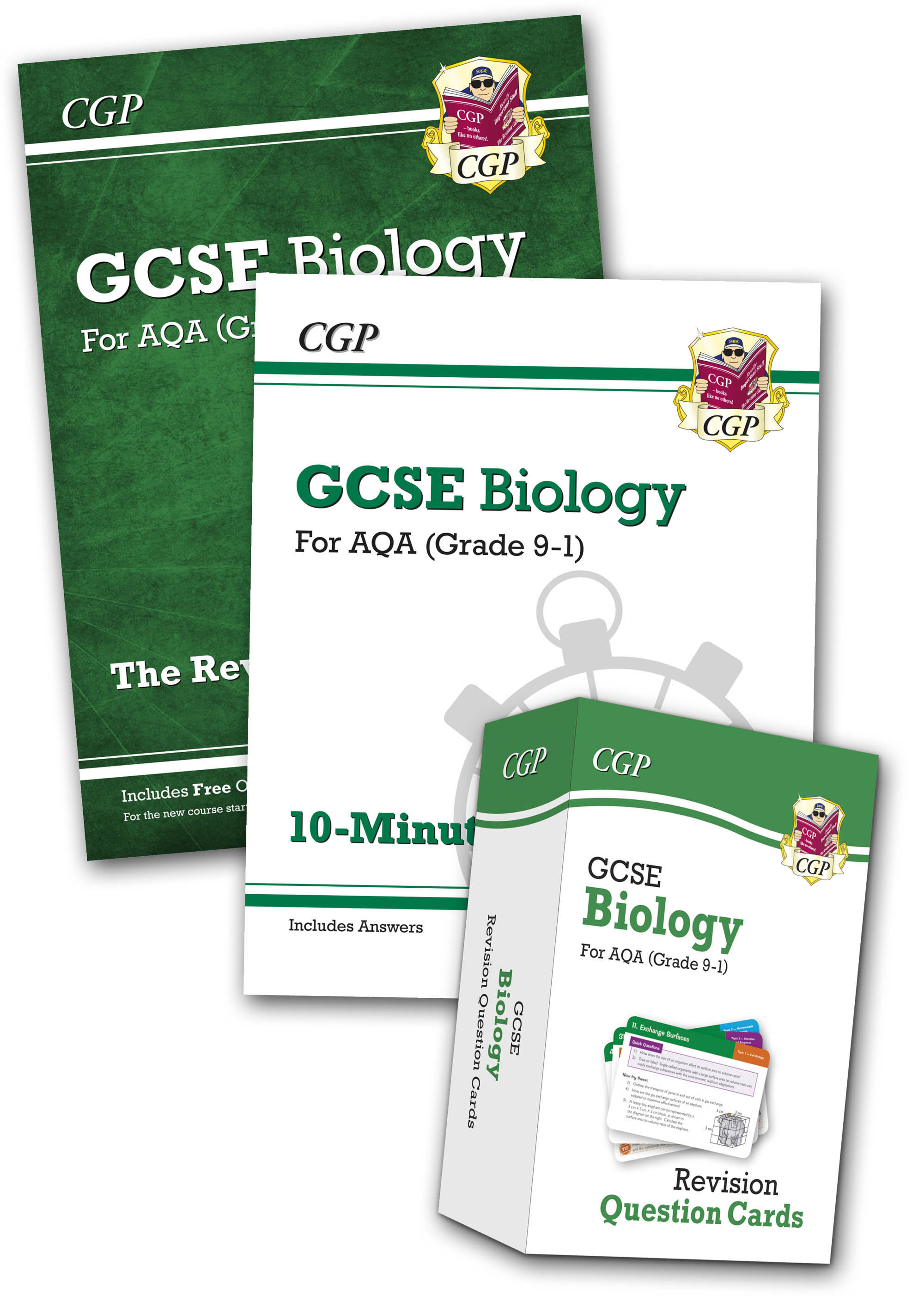 BABB41 - Grade 9-1 GCSE Biology AQA Money-Saving Bundle