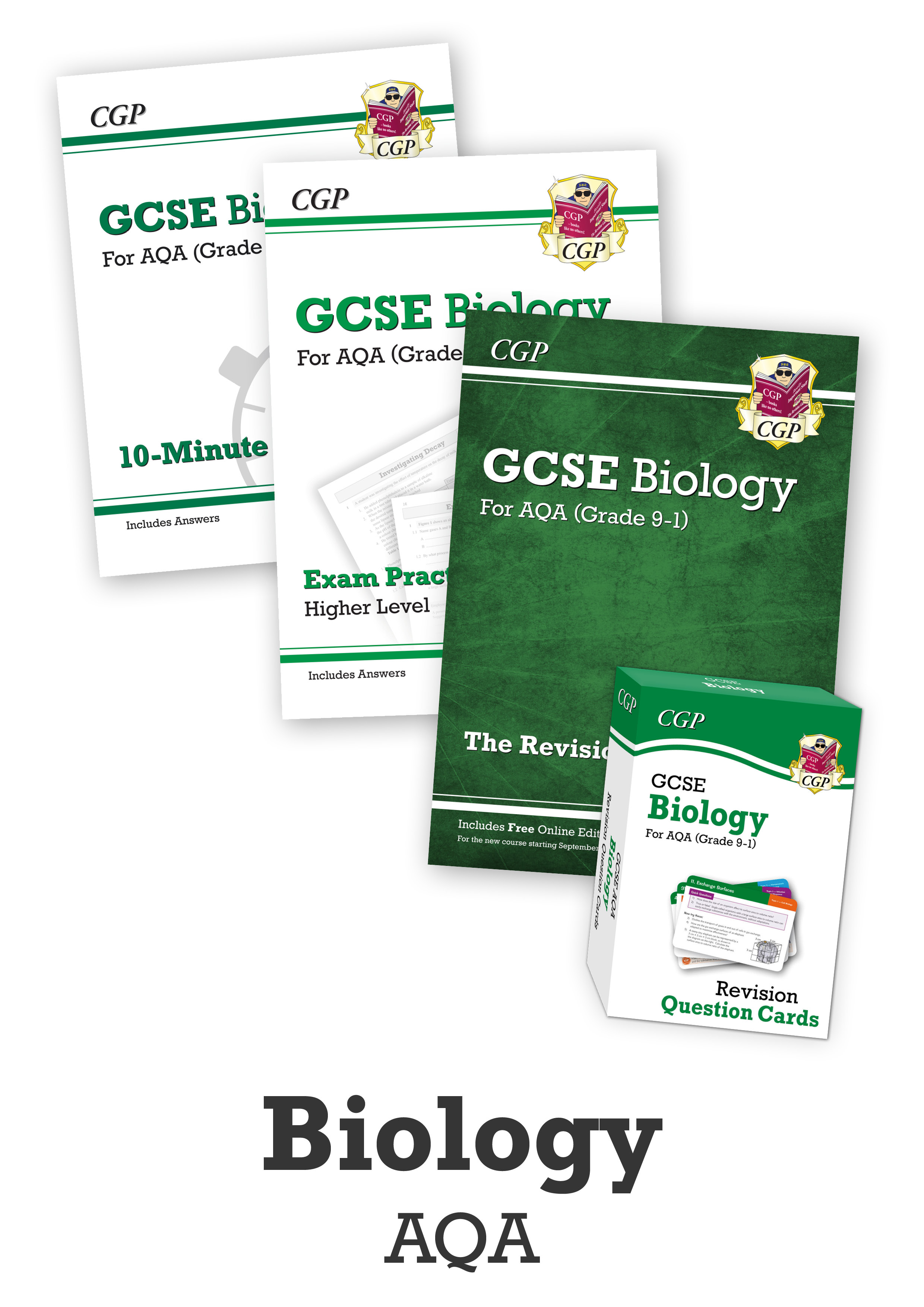 BACUB41 - GCSE Catch-Up Revision Essentials Bundle: AQA Biology