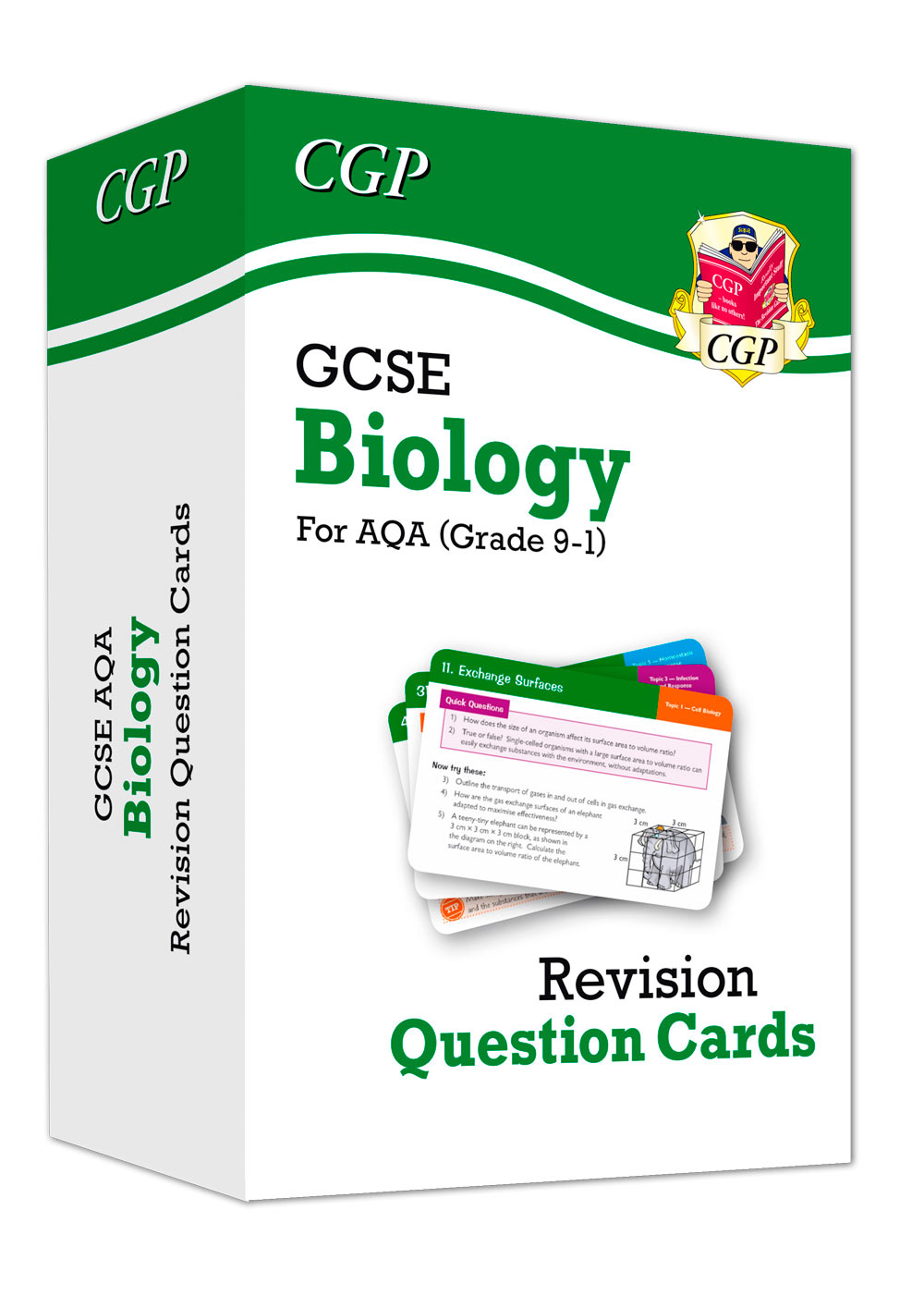 BAF41 - 9-1 GCSE Biology AQA Revision Question Cards