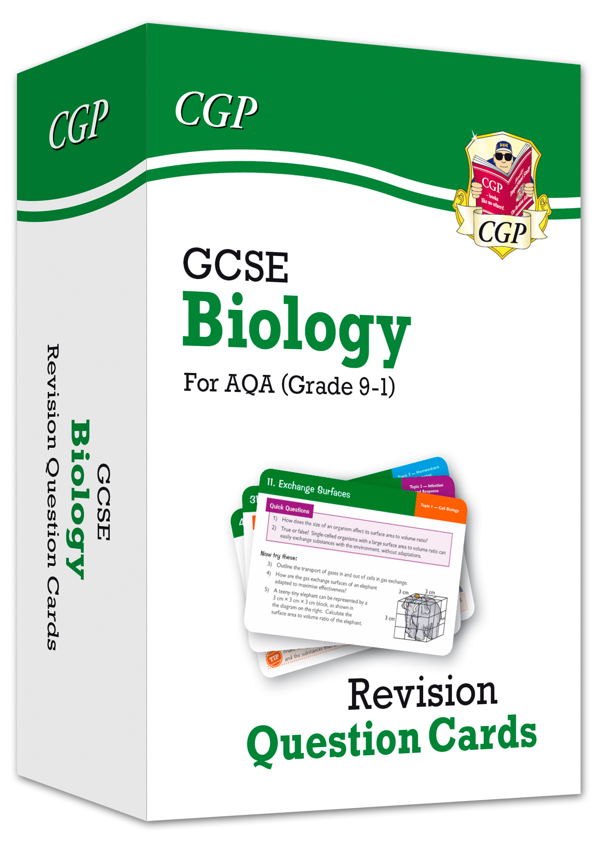 BAF41DK - New 9-1 GCSE Biology AQA Revision Question Cards