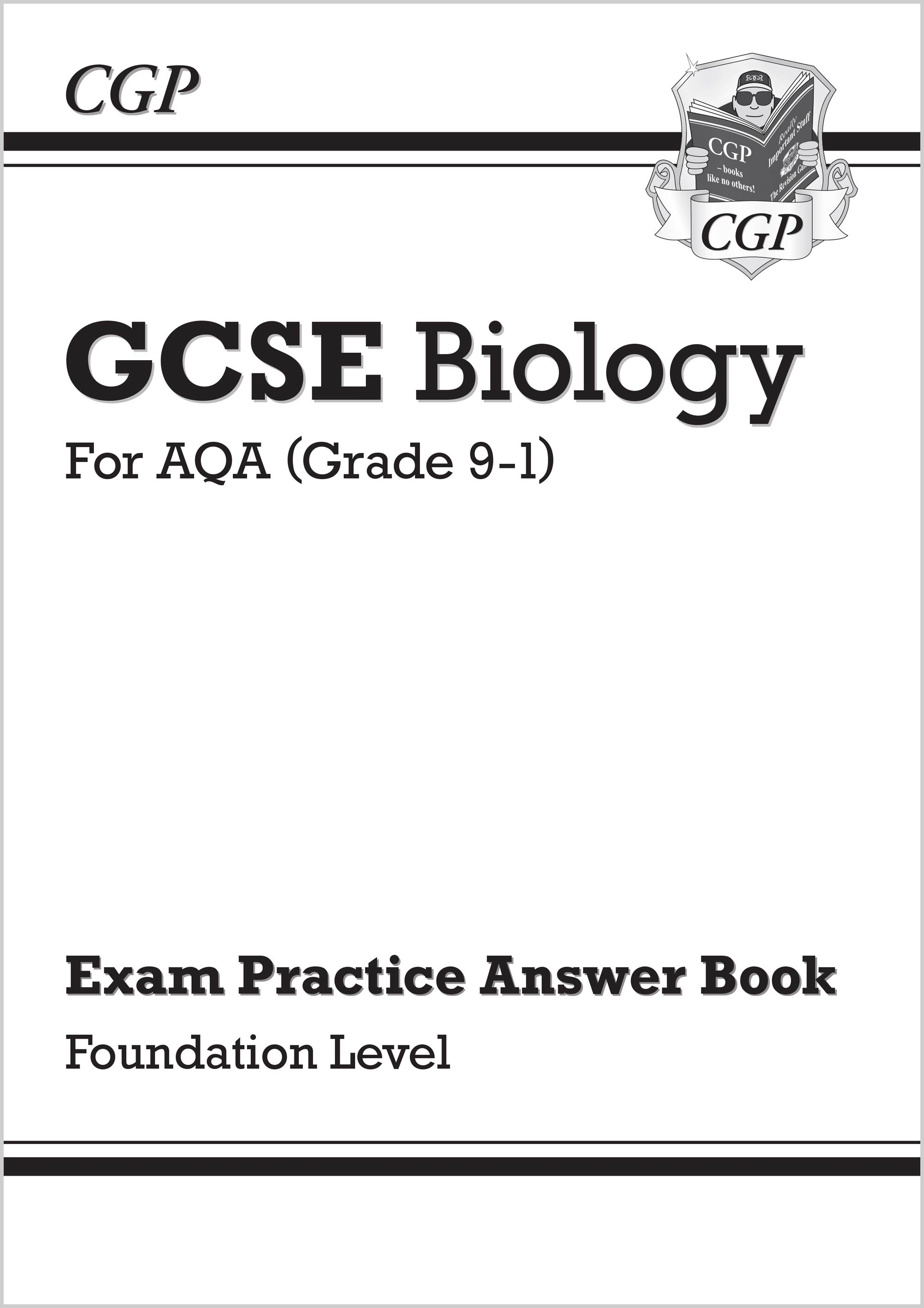 BAFQA41 - New GCSE Biology: AQA Answers (for Exam Practice Workbook) - Foundation