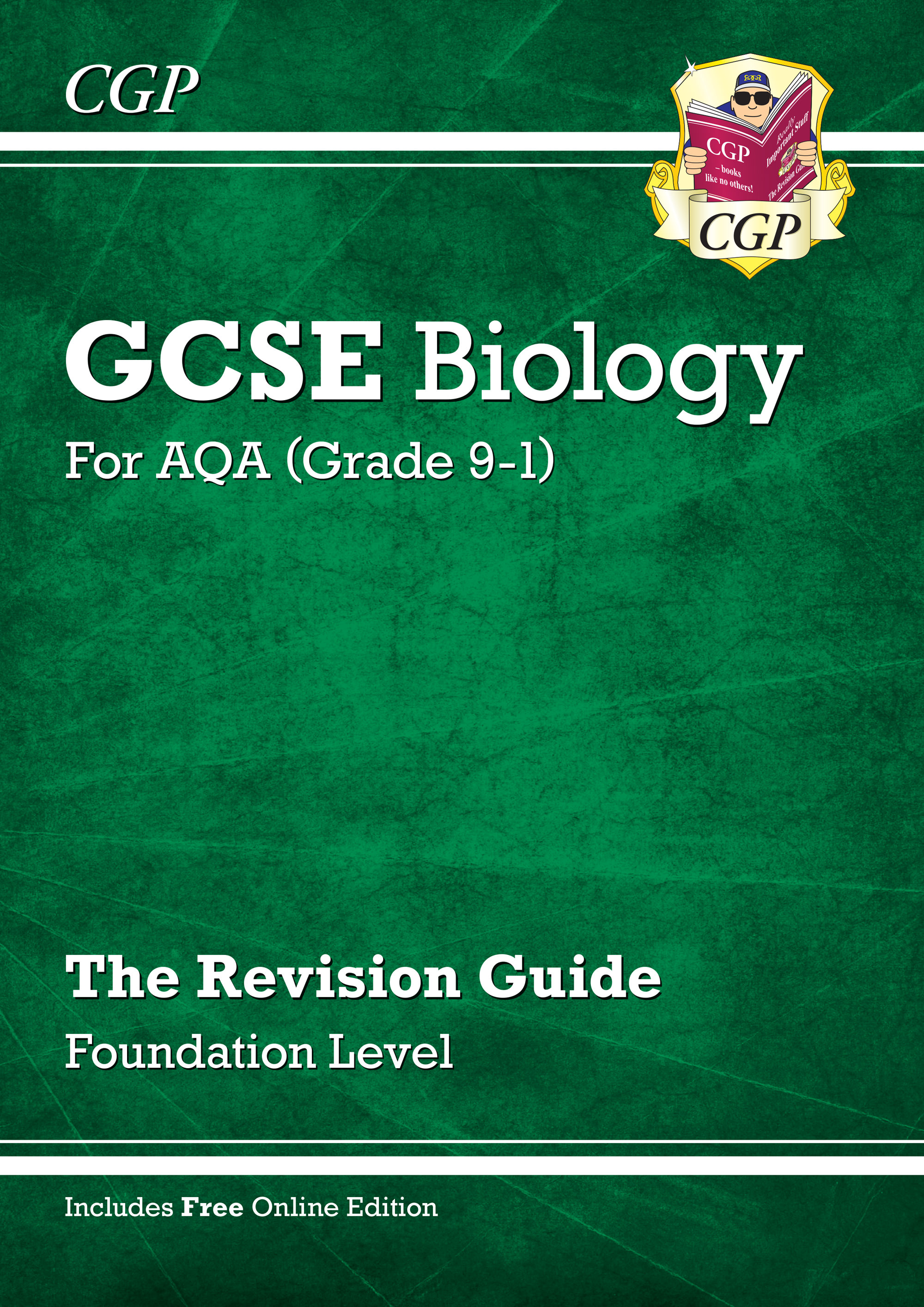 BAFR41 - New Grade 9-1 GCSE Biology: AQA Revision Guide with Online Edition - Foundation