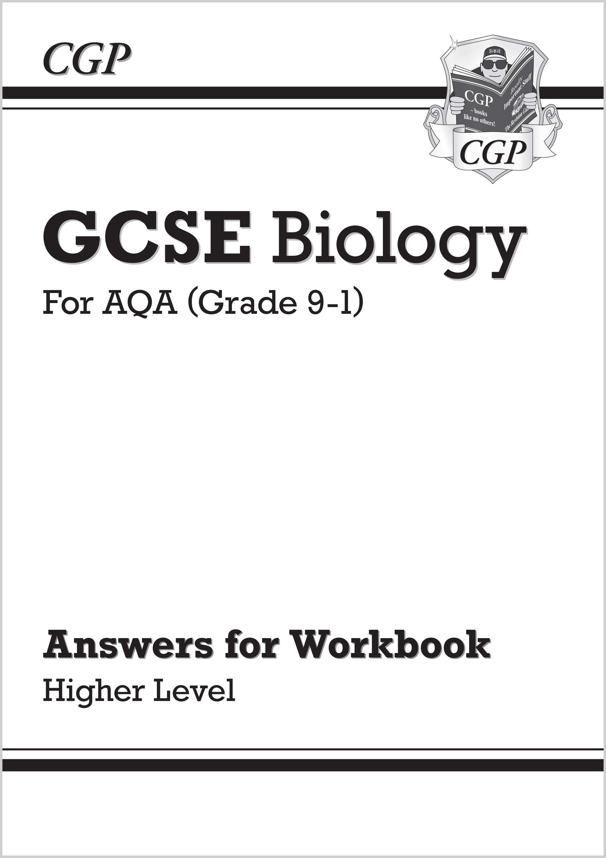 BAHA41 - Grade 9-1 GCSE Biology: AQA Answers (for Workbook) - Higher