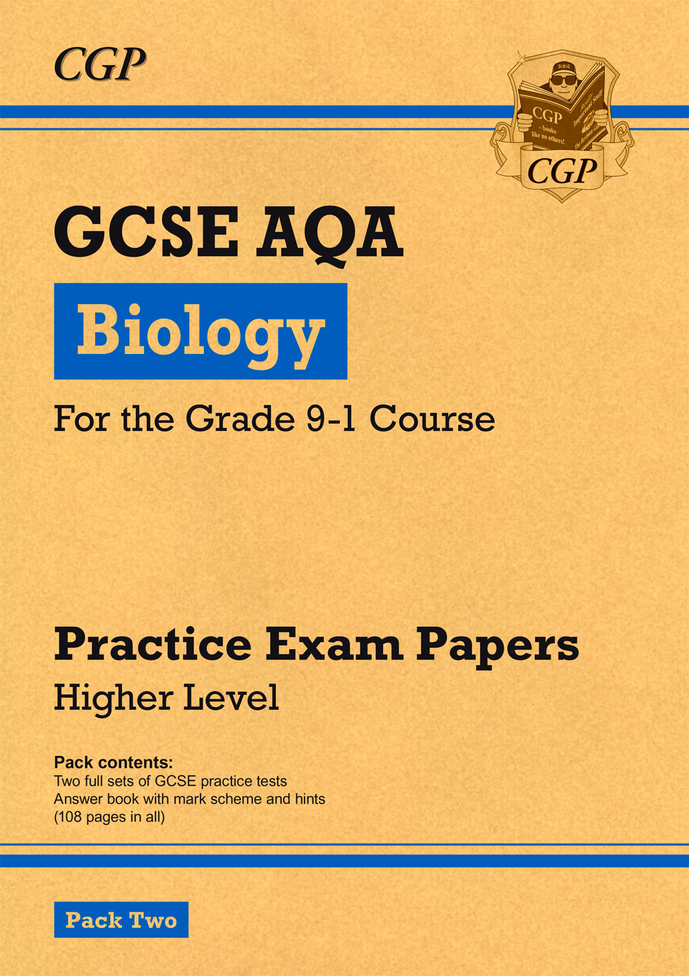 BAHP241 - New Grade 9-1 GCSE Biology AQA Practice Papers: Higher Pack 2