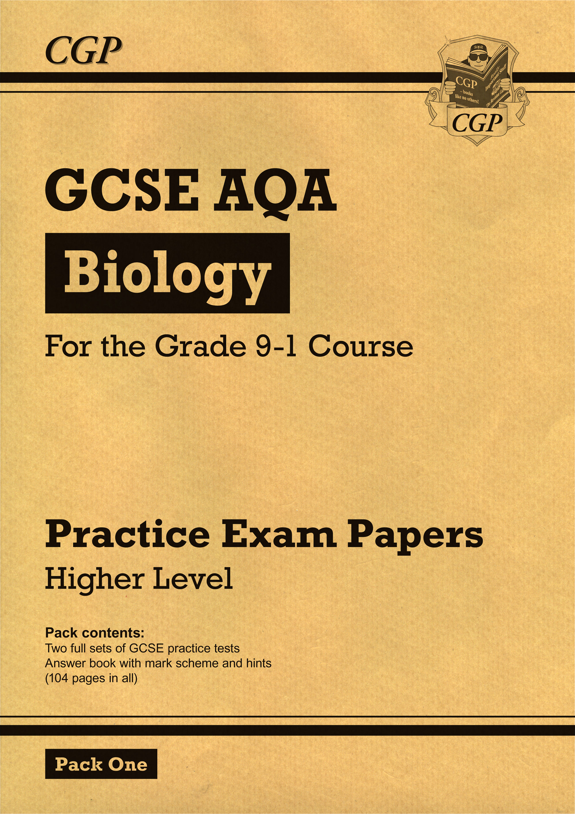BAHP45 - New Grade 9-1 GCSE Biology AQA Practice Papers: Higher Pack 1