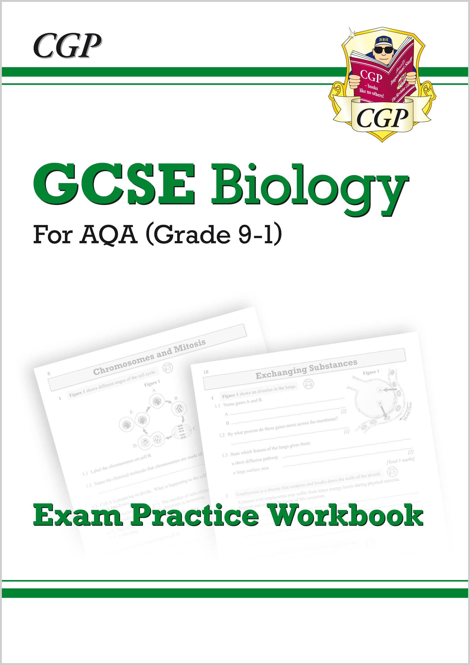 BAQ41 - New Grade 9-1 GCSE Biology: AQA Exam Practice Workbook