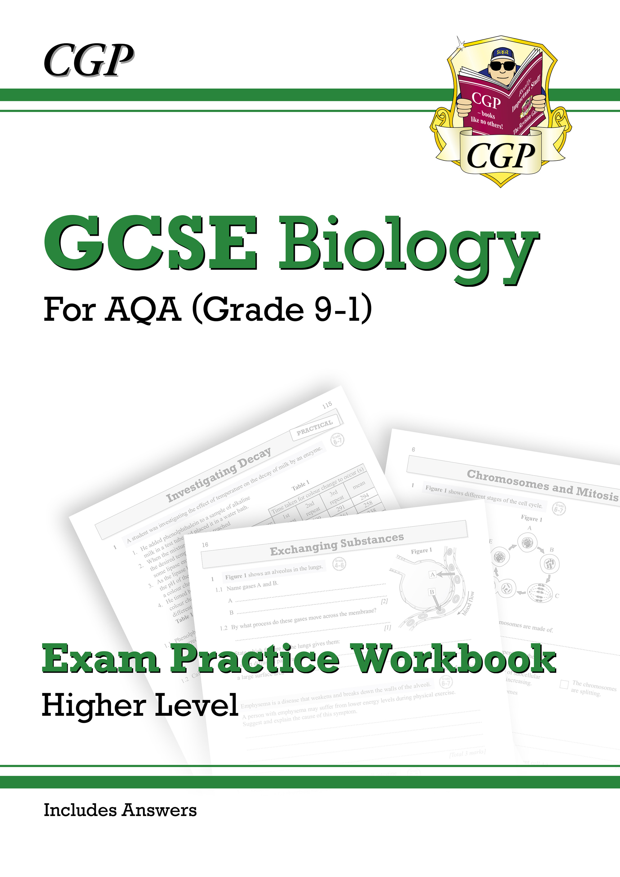 BAQ41BDK - Grade 9-1 GCSE Biology: AQA Exam Practice Workbook (with answers) - Higher