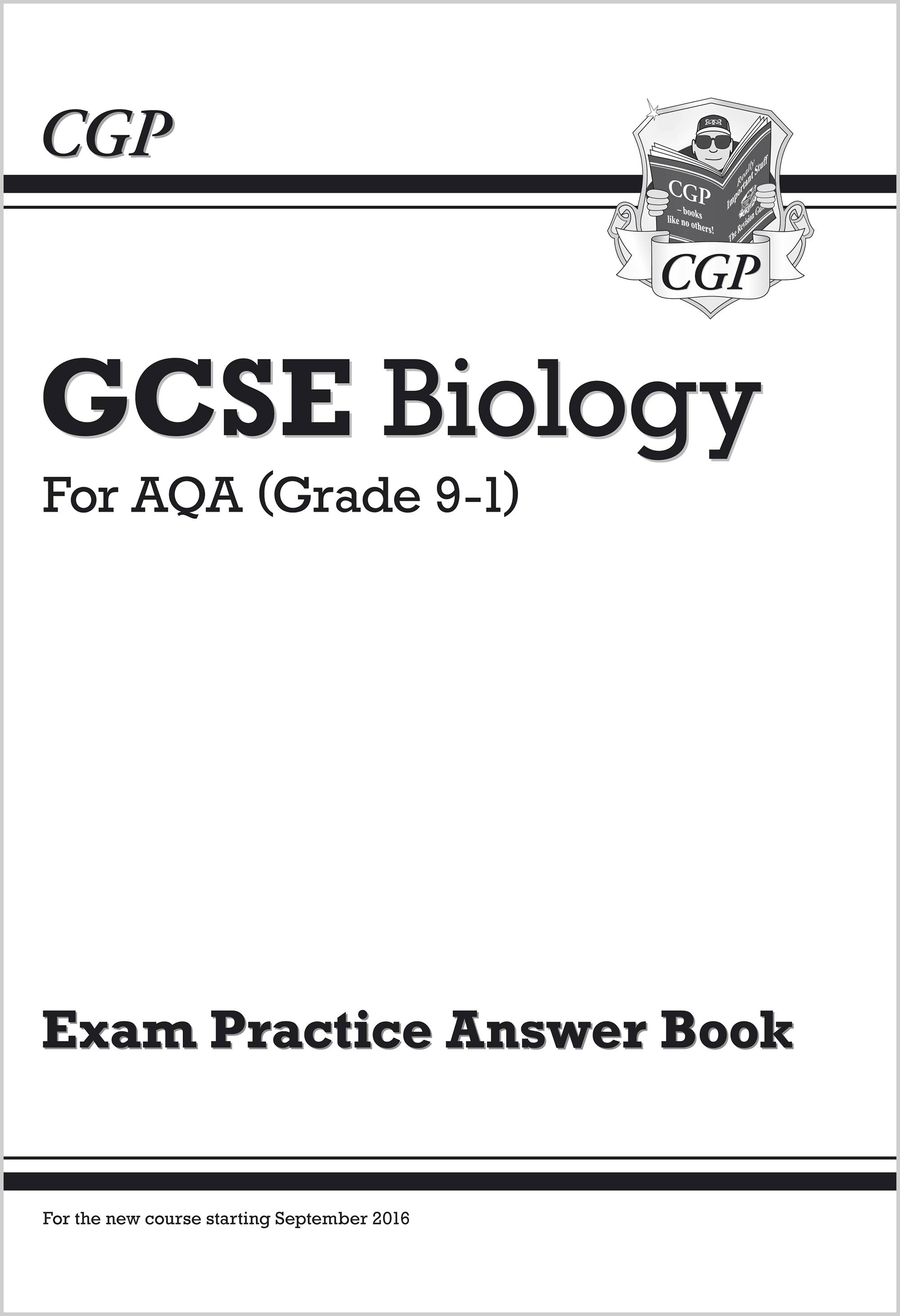 BAQA41 - New GCSE Biology: AQA Answers (for Exam Practice Workbook)