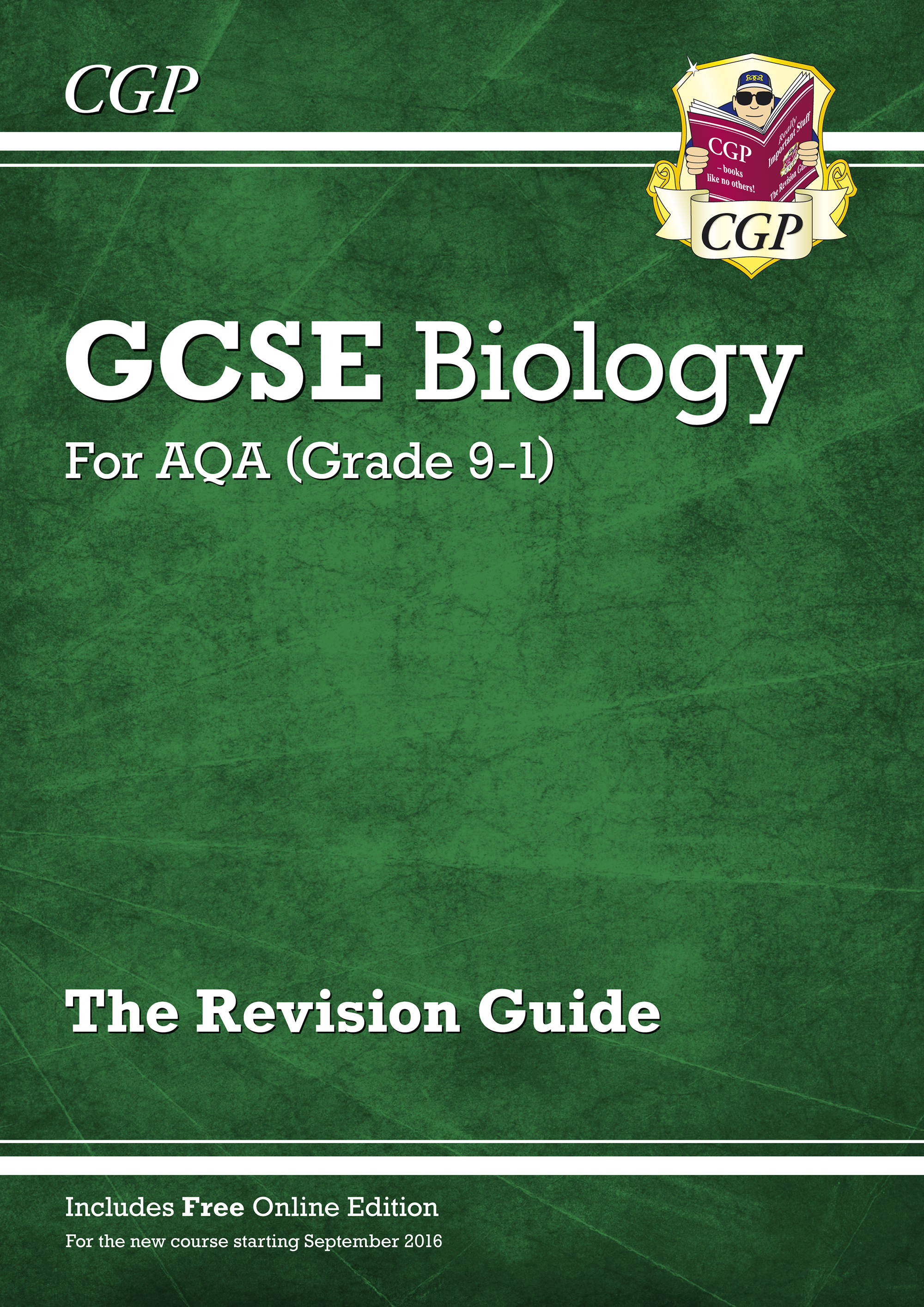 BAR45 - New Grade 9-1 GCSE Biology: AQA Revision Guide with Online Edition