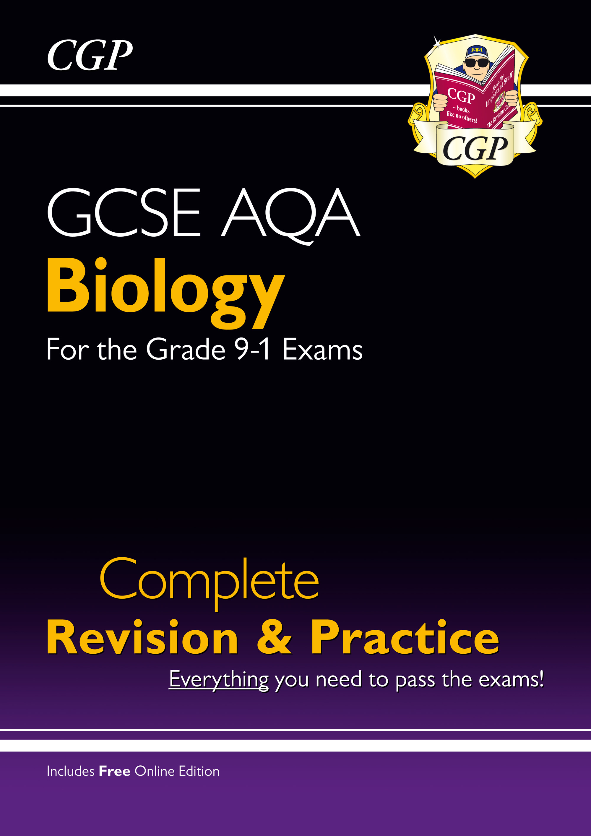 BAS45 - New Grade 9-1 GCSE Biology AQA Complete Revision & Practice with Online Edition