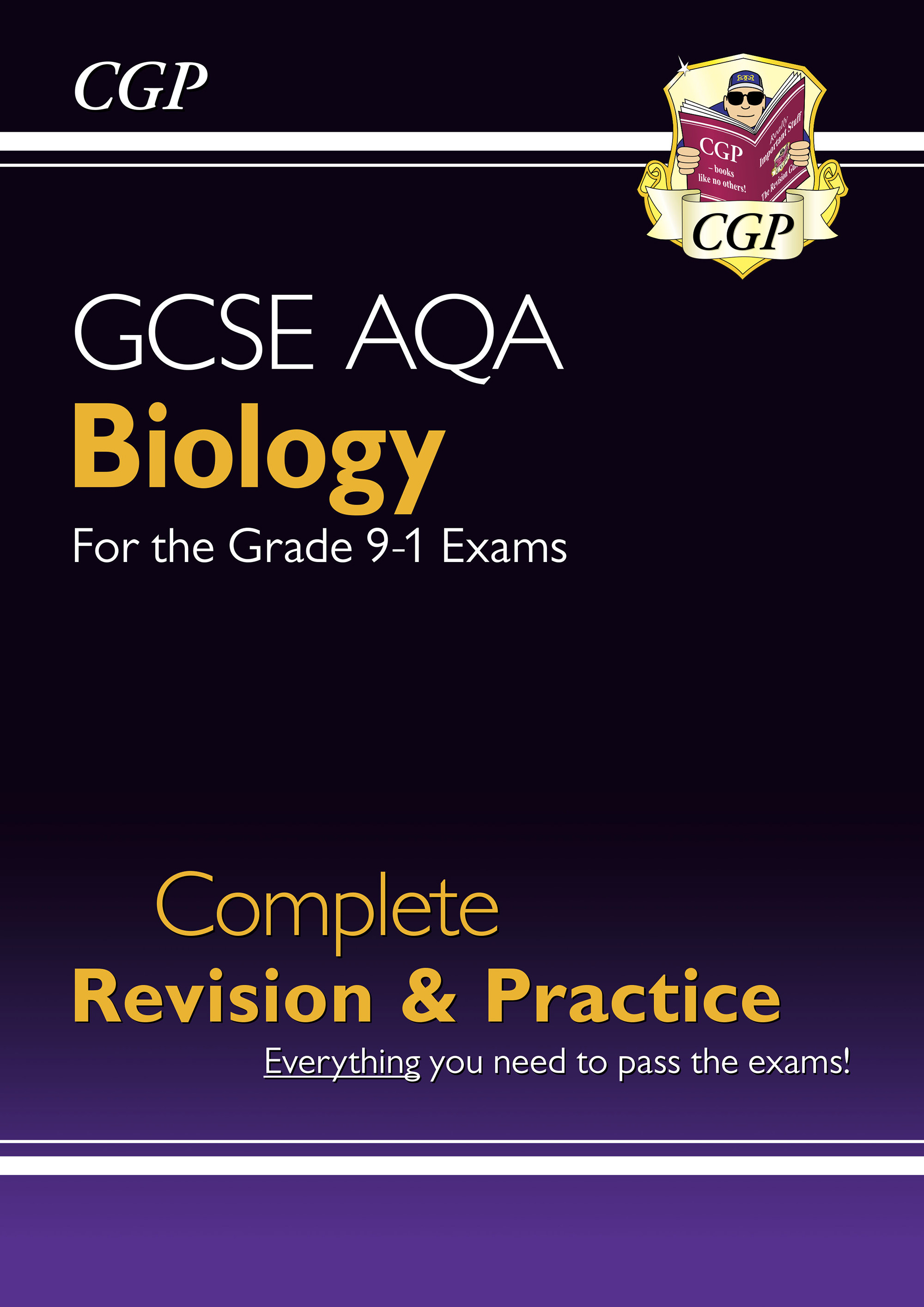 BAS45DK - New Grade 9-1 GCSE Biology AQA Complete Revision & Practice