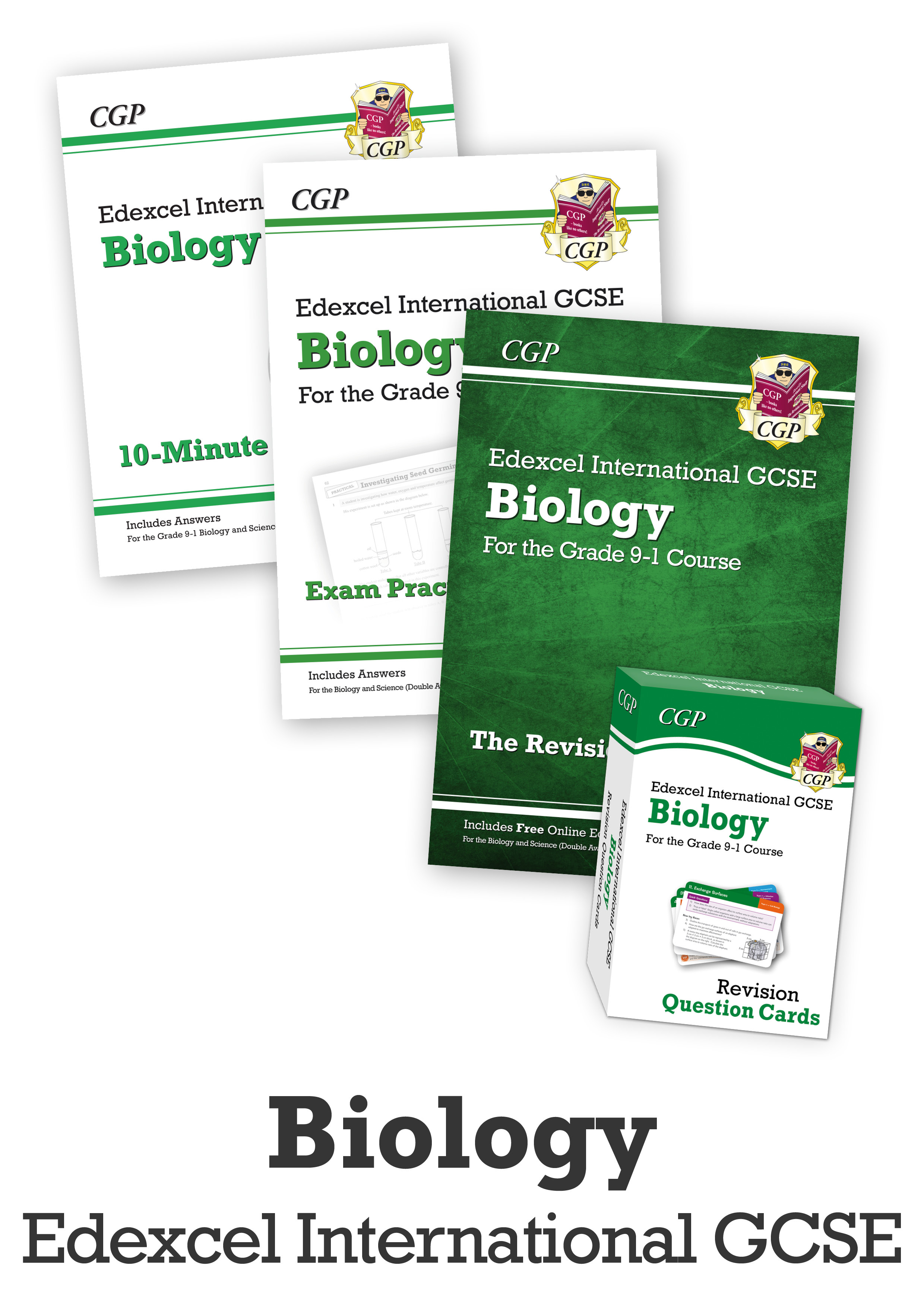 BECUBI41 - GCSE Catch-Up Revision Essentials Bundle: Edexcel International GCSE Biology