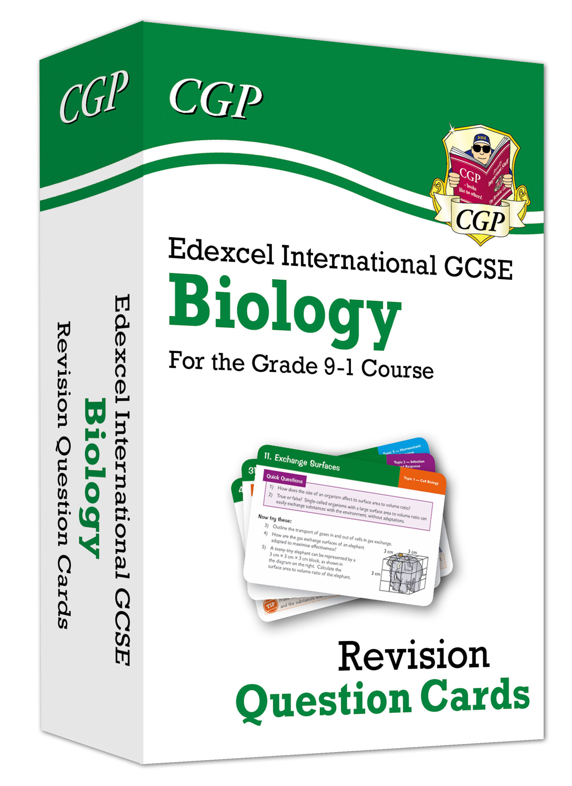 BEFI41D - New Grade 9-1 Edexcel International GCSE Biology: Revision Question Cards Online Edition