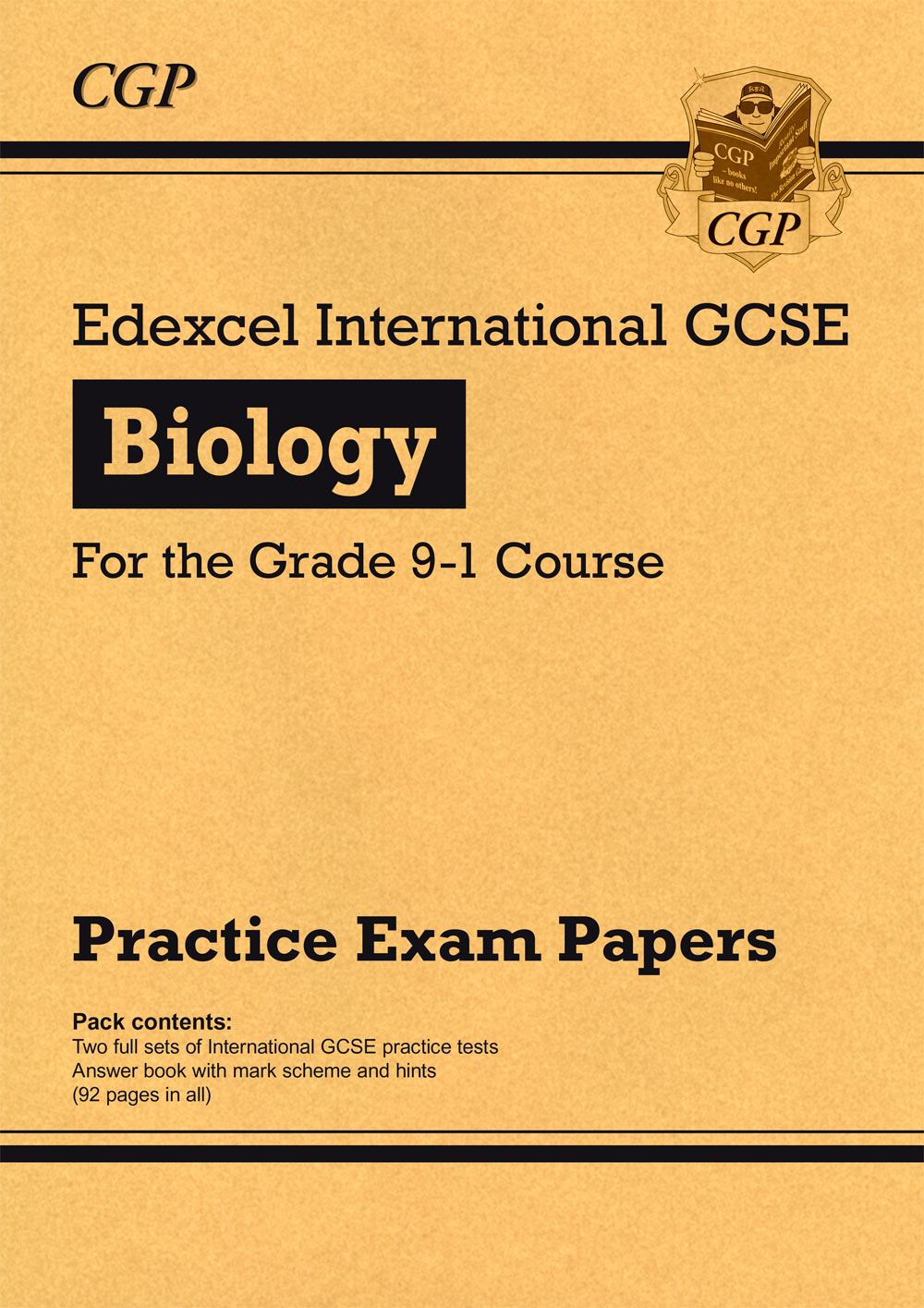 BEHPI41 - New Edexcel International GCSE Biology Practice Papers - for the Grade 9-1 Course