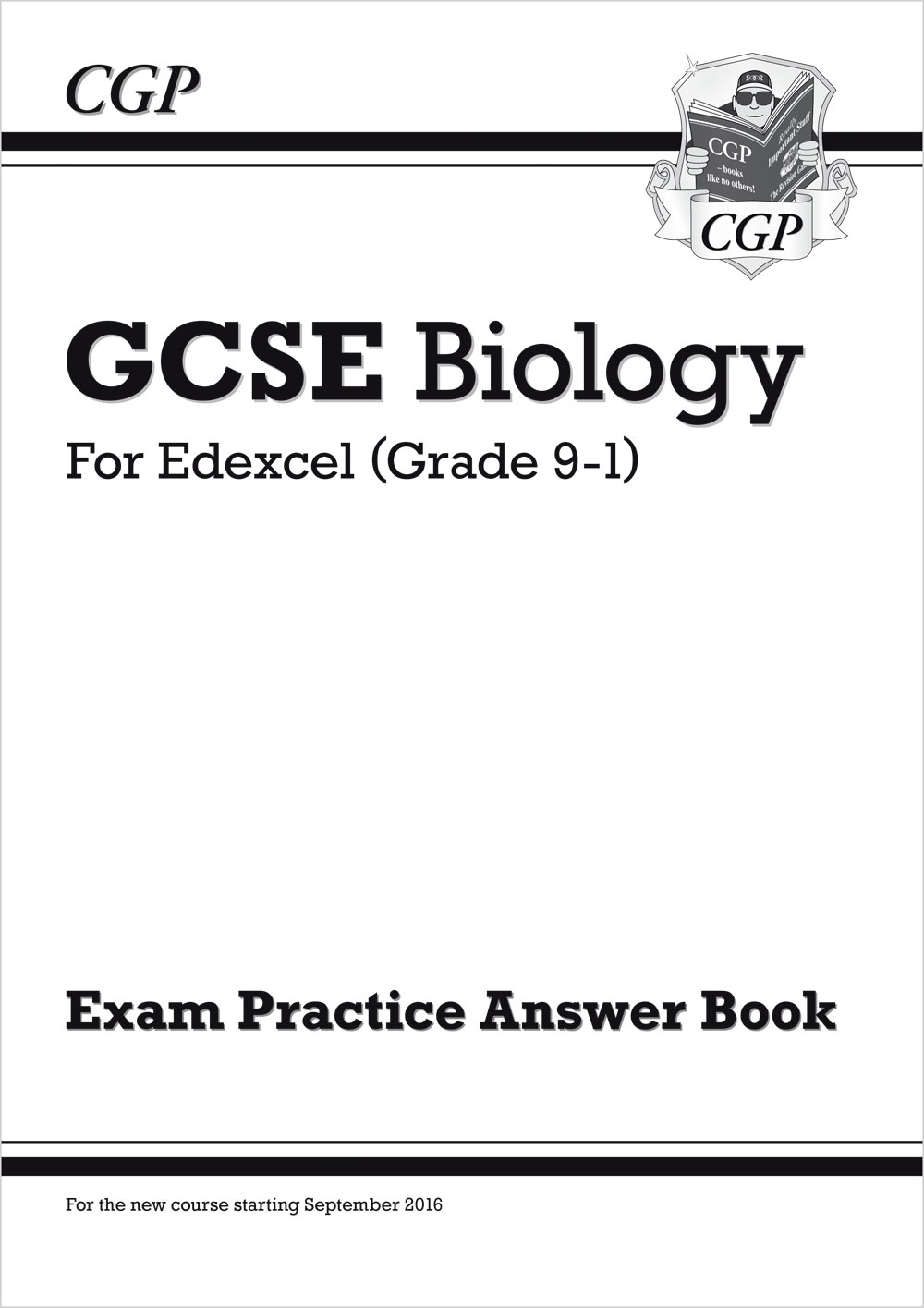 BEQA41 - New GCSE Biology: Edexcel Answers (for Exam Practice Workbook)