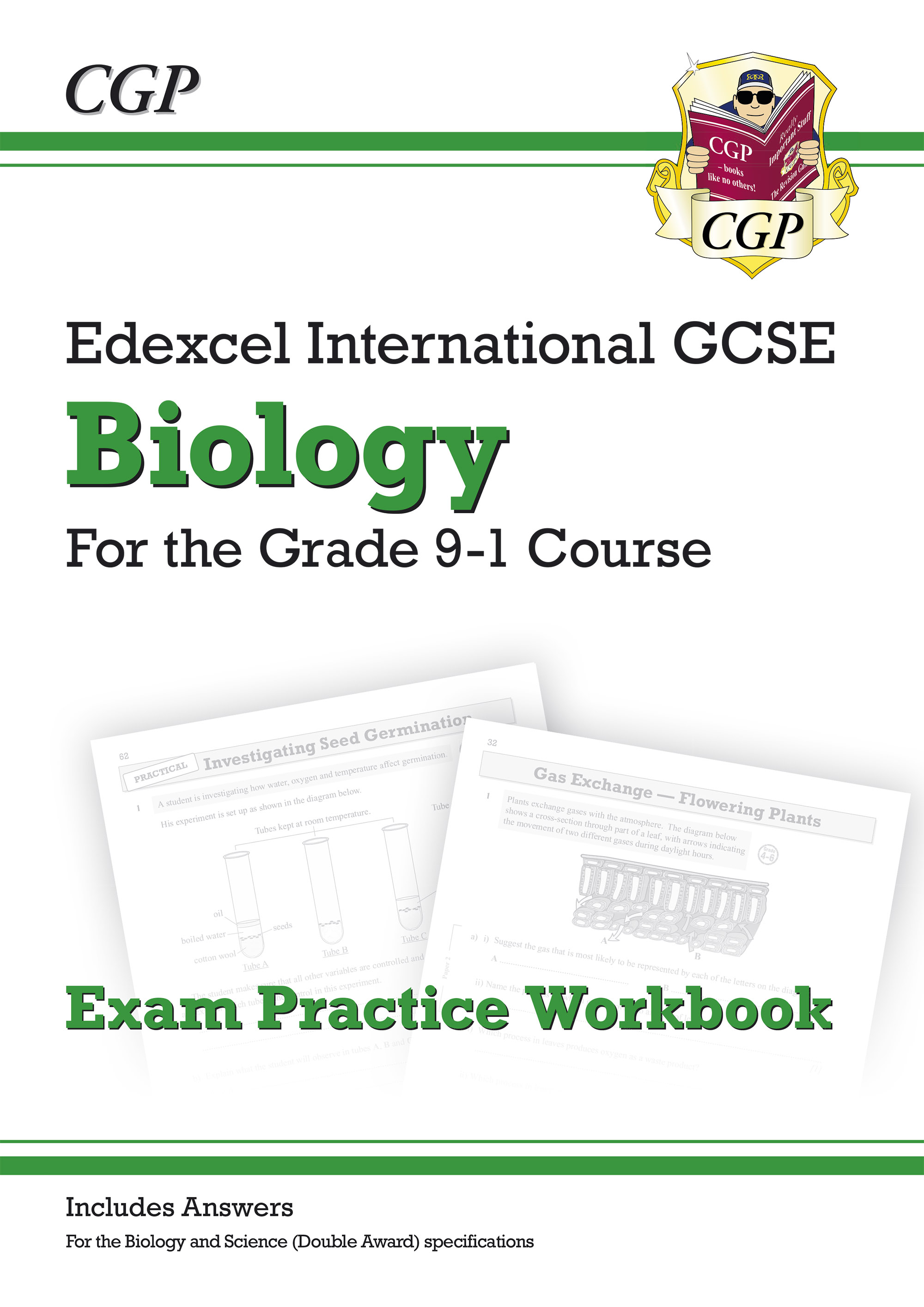 BEQI42D - New Grade 9-1 Edexcel International GCSE Biology: Exam Practice Workbook (includes Answers