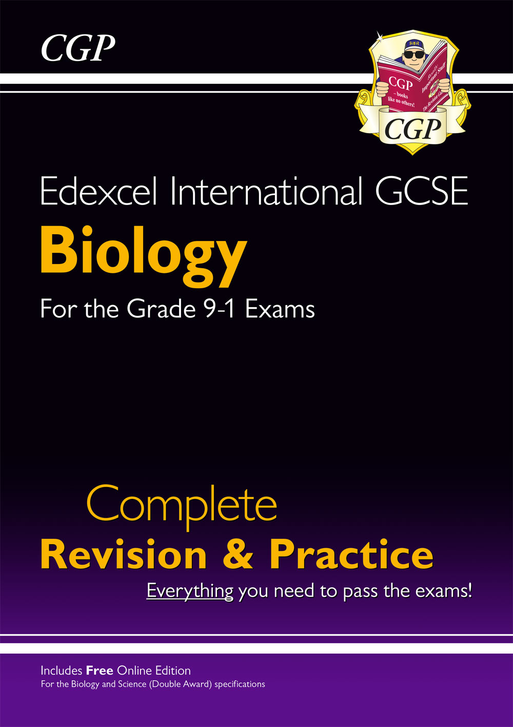 BESI42 - Grade 9-1 Edexcel International GCSE Biology: Complete Revision & Practice with Online Edit