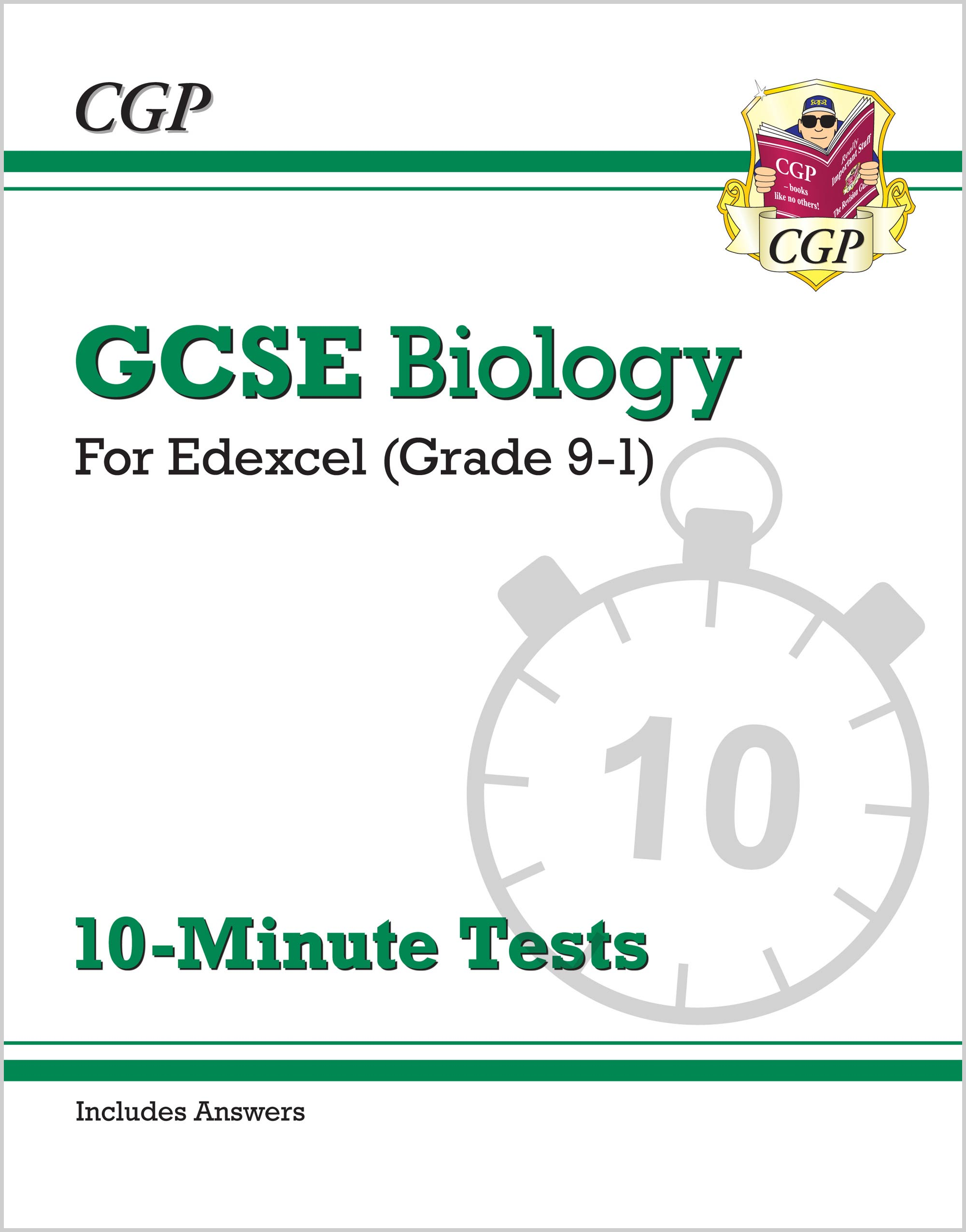 BEXP41 - Grade 9-1 GCSE Biology: Edexcel 10-Minute Tests (with answers)