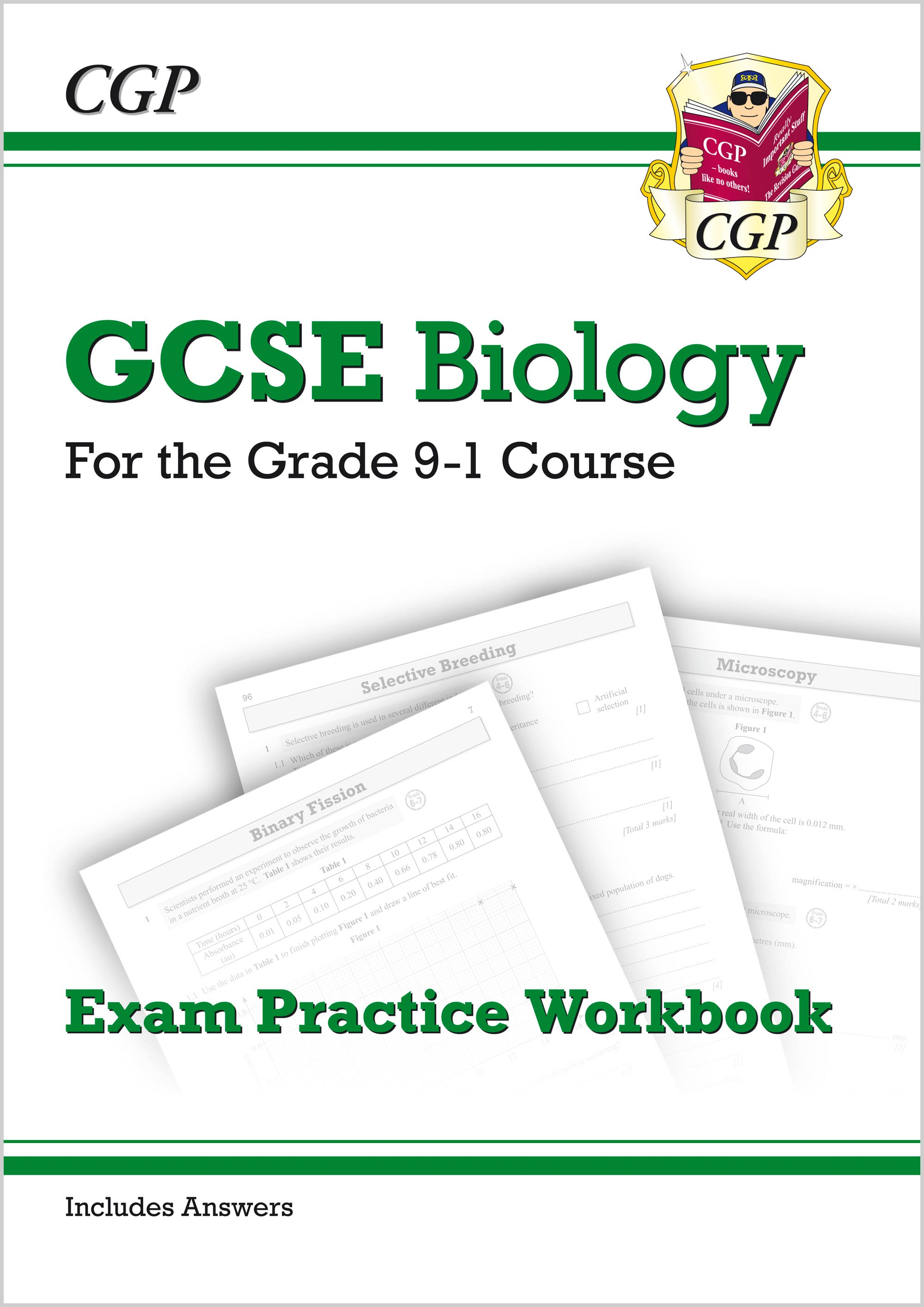 BHQ41B - Grade 9-1 GCSE Biology: Exam Practice Workbook (with answers)