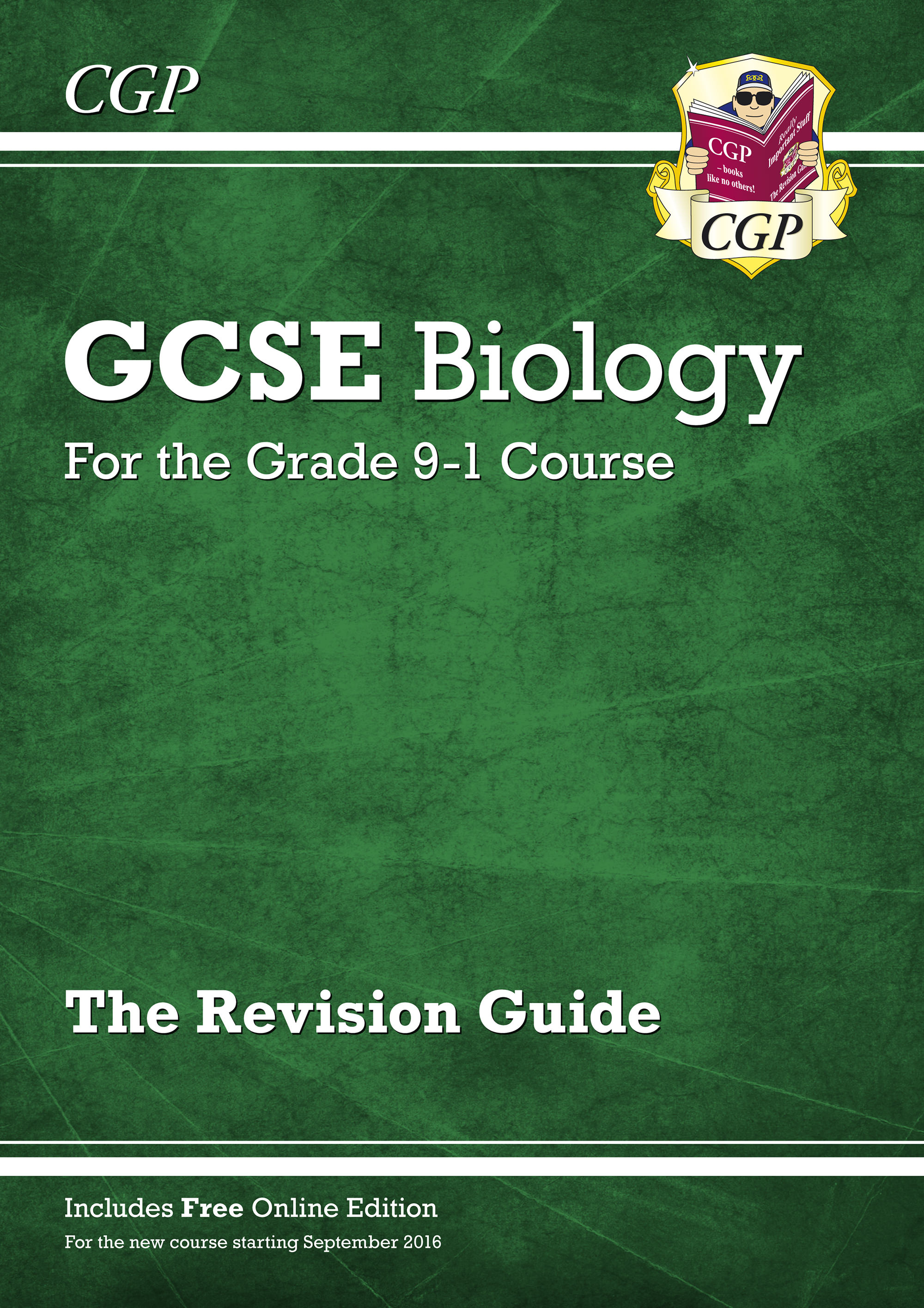 BHR45 - Grade 9-1 GCSE Biology: Revision Guide with Online Edition