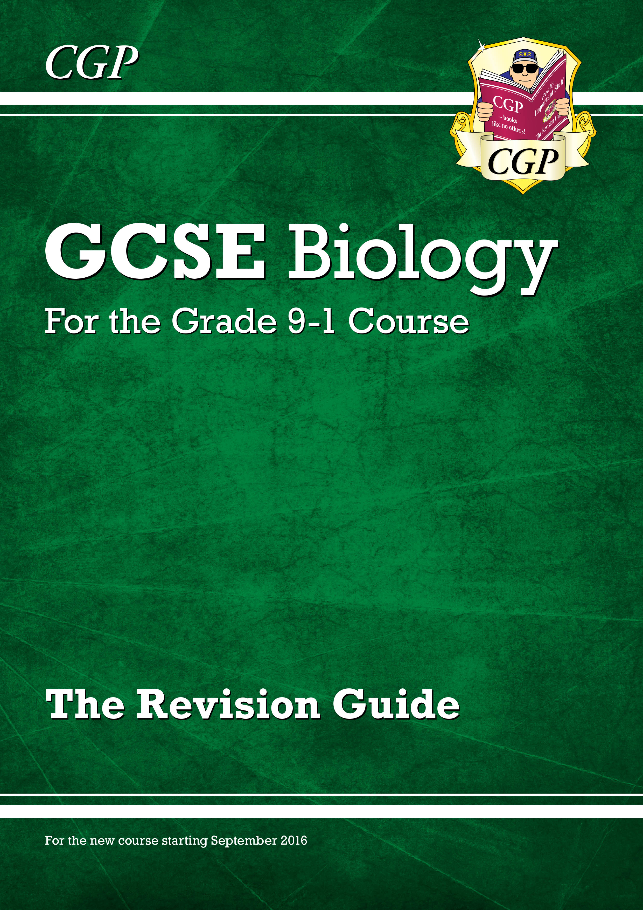 BHR45DK - New Grade 9-1 GCSE Biology: Revision Guide