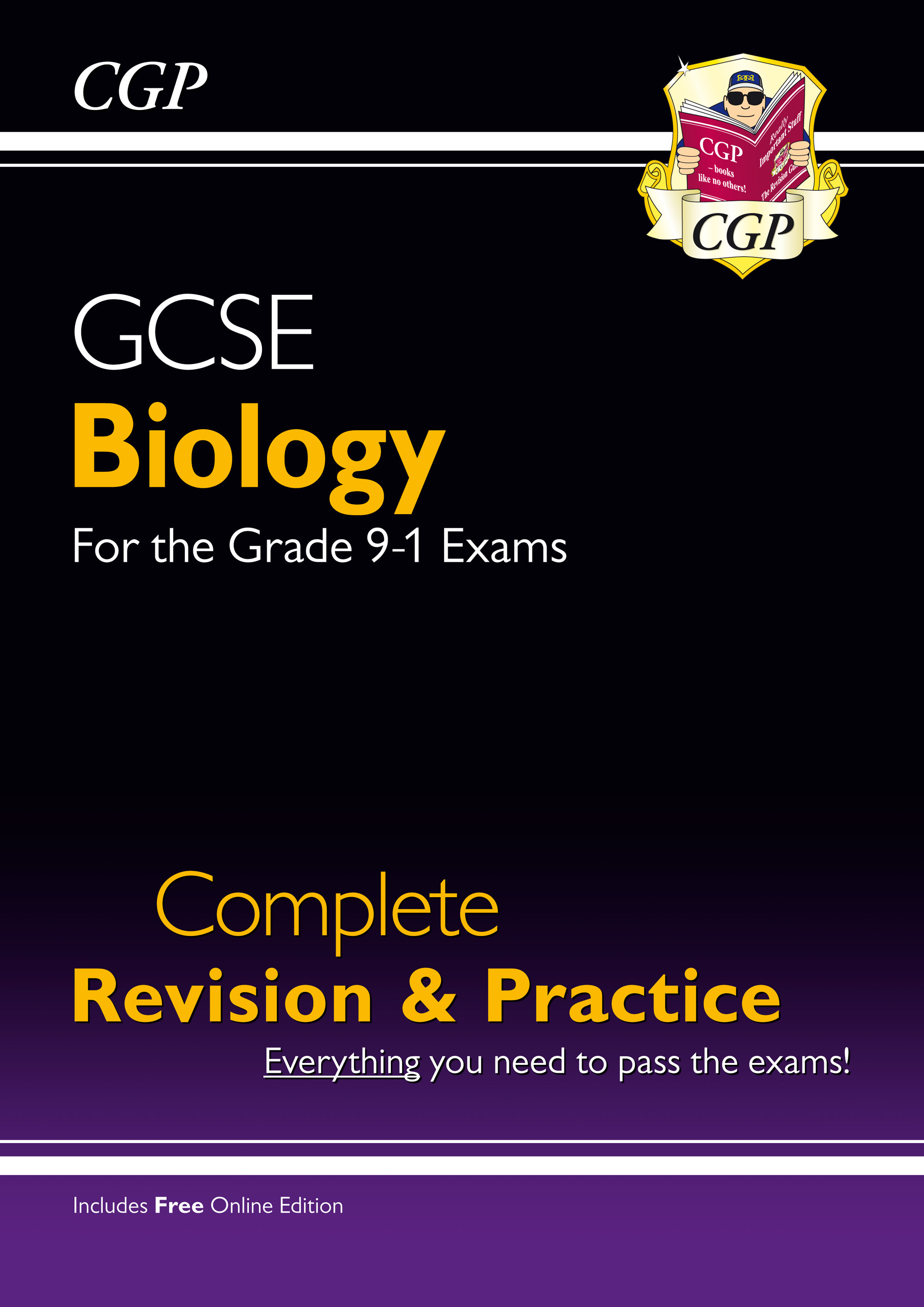 BHS45 - New Grade 9-1 GCSE Biology Complete Revision & Practice with Online Edition