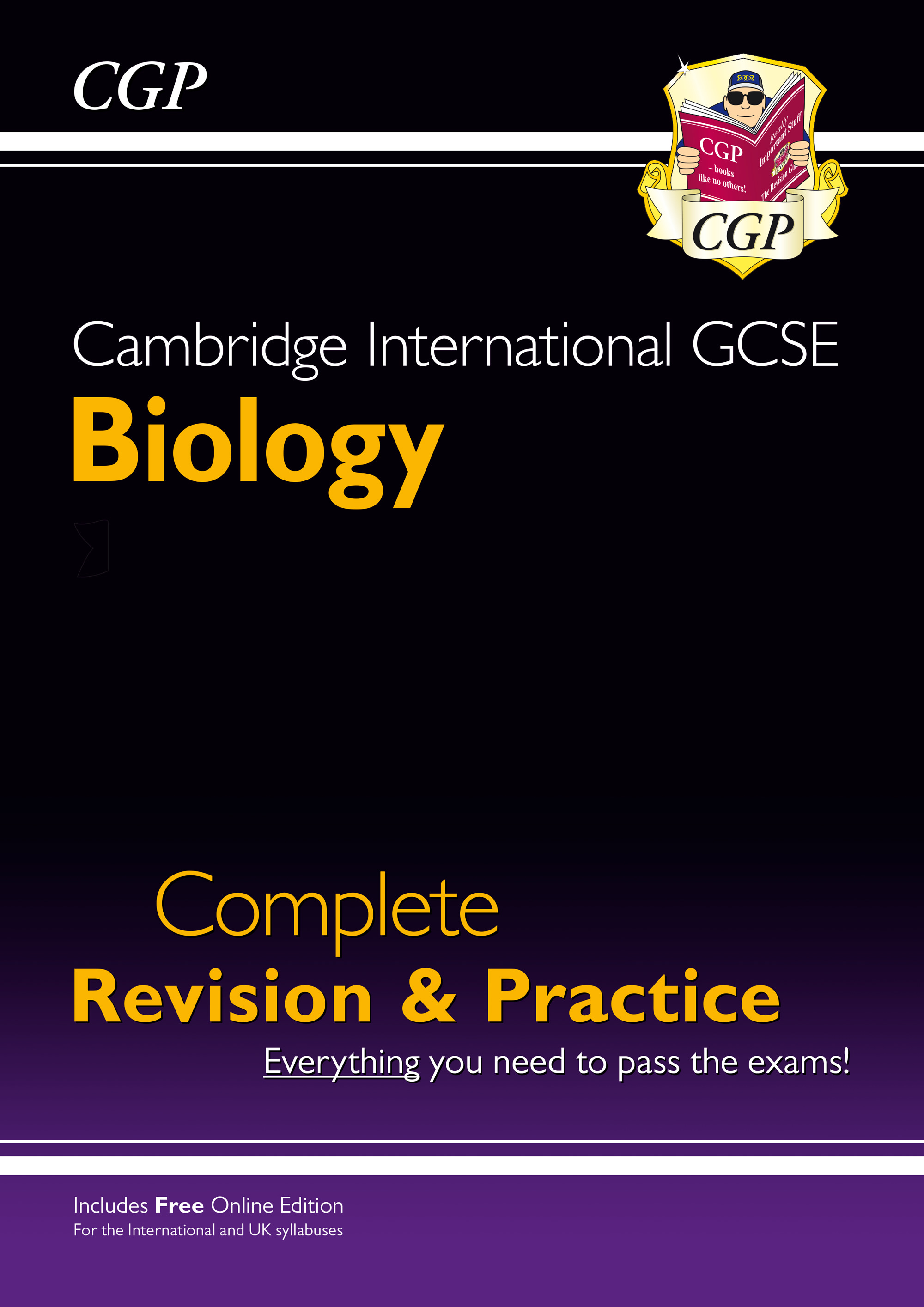 BISI41 - New Cambridge International GCSE Biology Complete Revision & Practice: Core & Extended + On