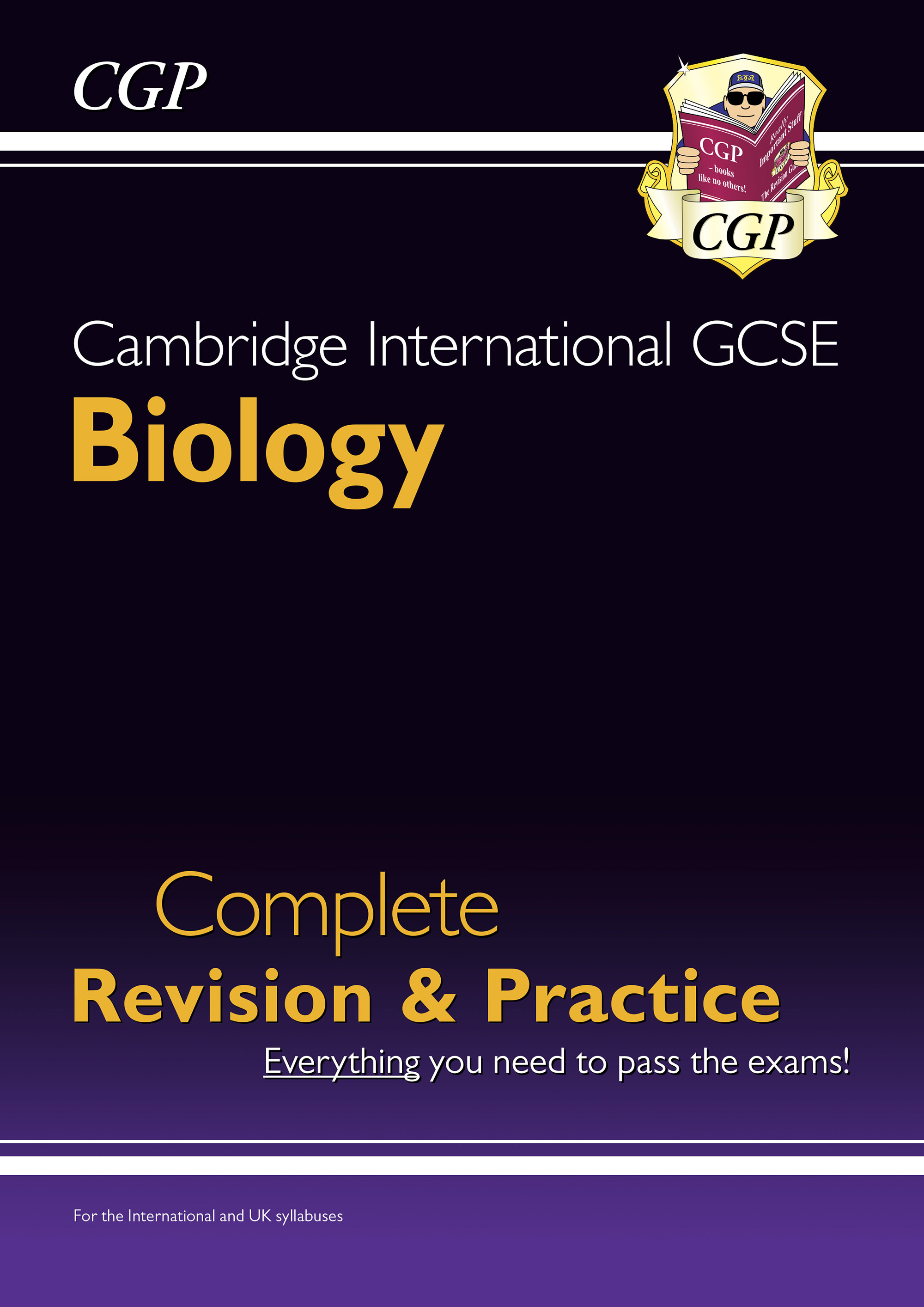 BISI41DK - New Cambridge International GCSE Biology Complete Revision & Practice: Core & Extended