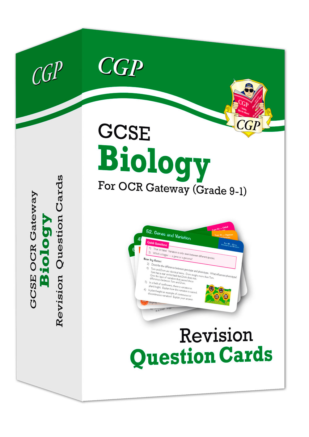 BRF41 - New 9-1 GCSE Biology OCR Gateway Revision Question Cards