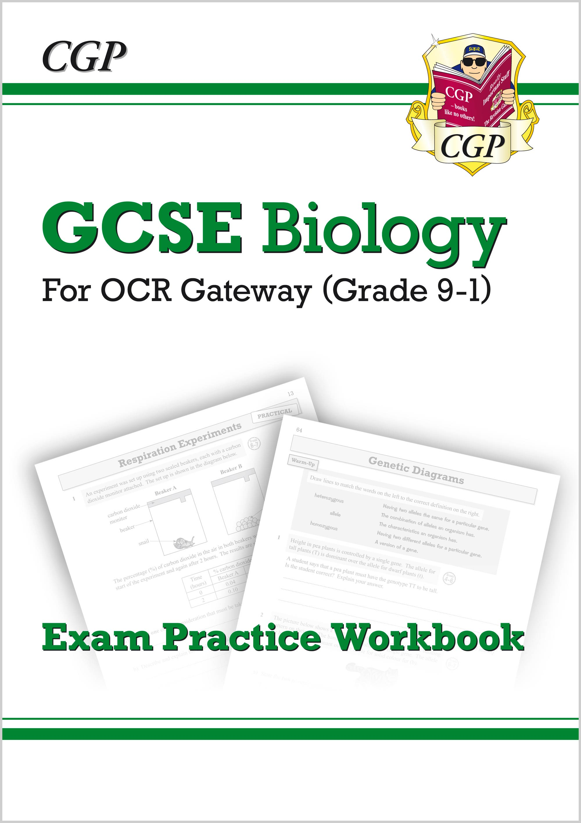 BRQ41 - New Grade 9-1 GCSE Biology: OCR Gateway Exam Practice Workbook