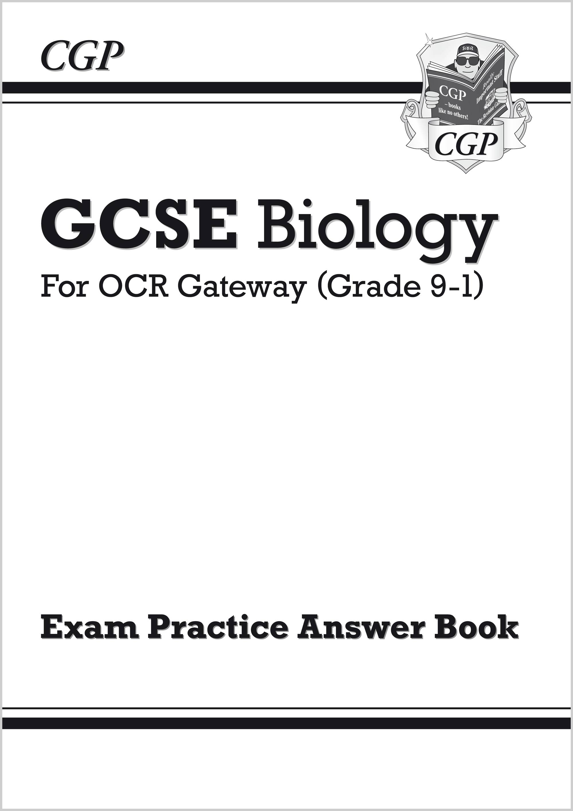 BRQA41 - GCSE Biology: OCR Gateway Answers (for Exam Practice Workbook)
