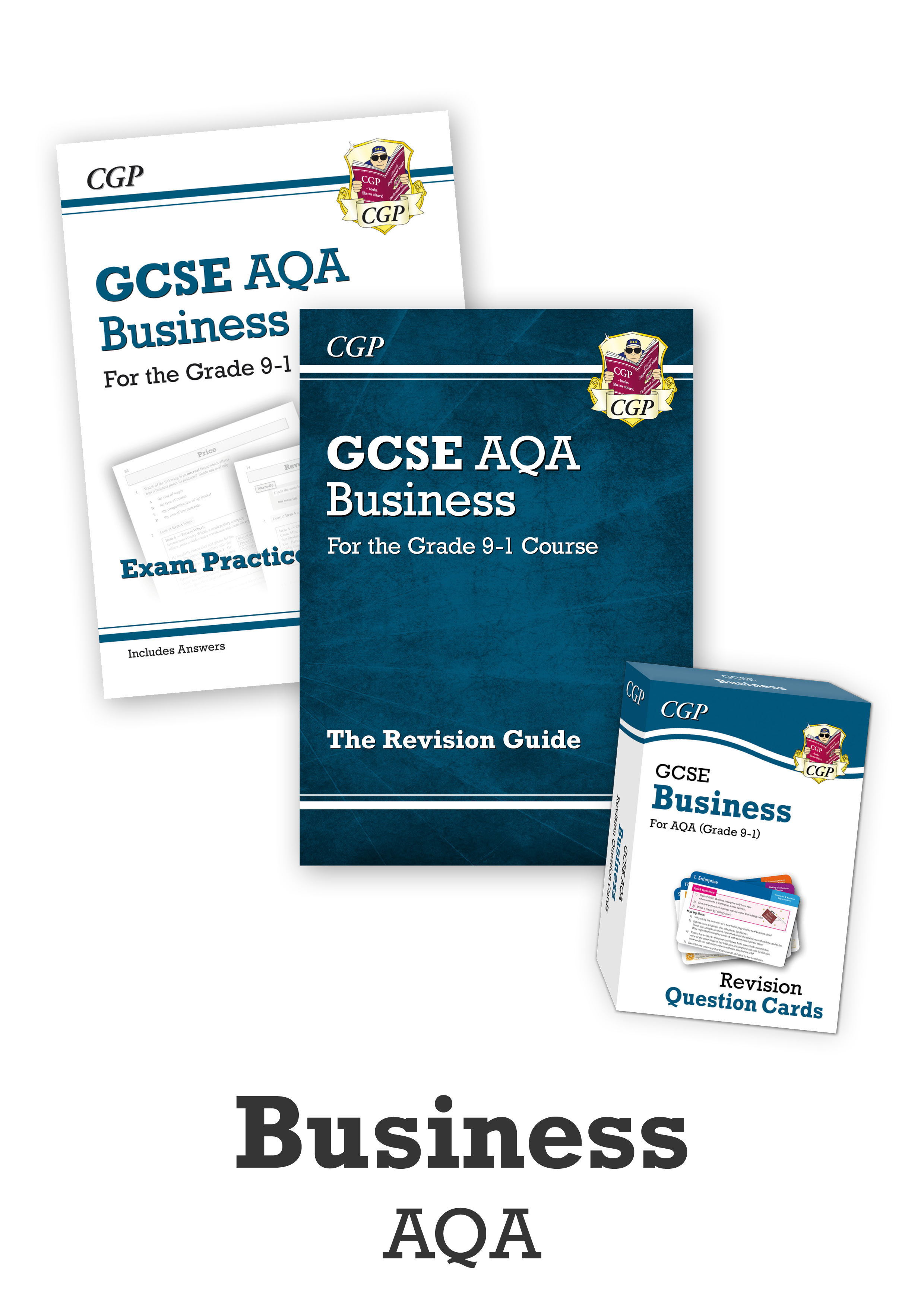 BUACUB41 - GCSE Essentials Bundle: AQA Business