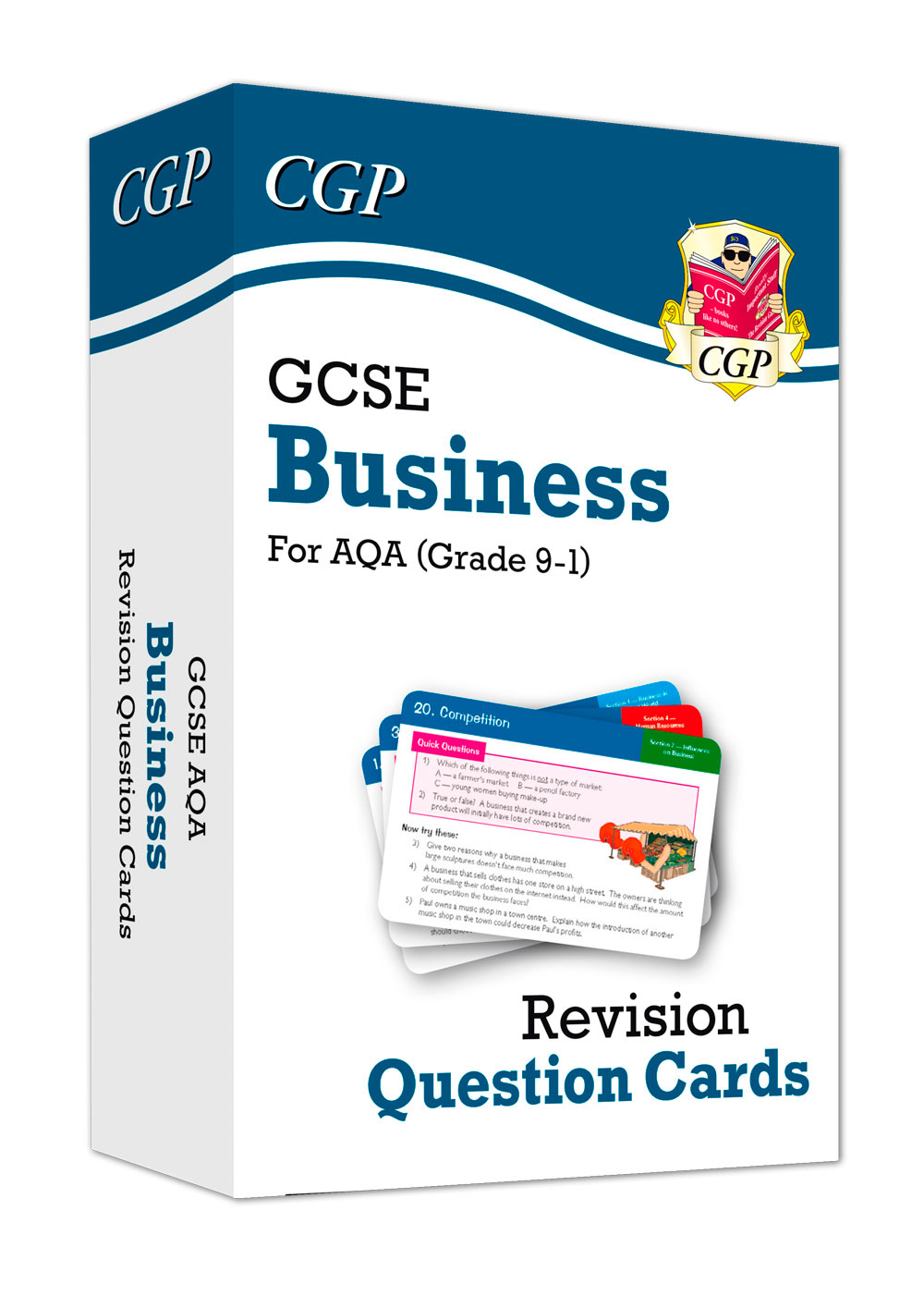 BUAF41 - New Grade 9-1 GCSE Business AQA Revision Question Cards