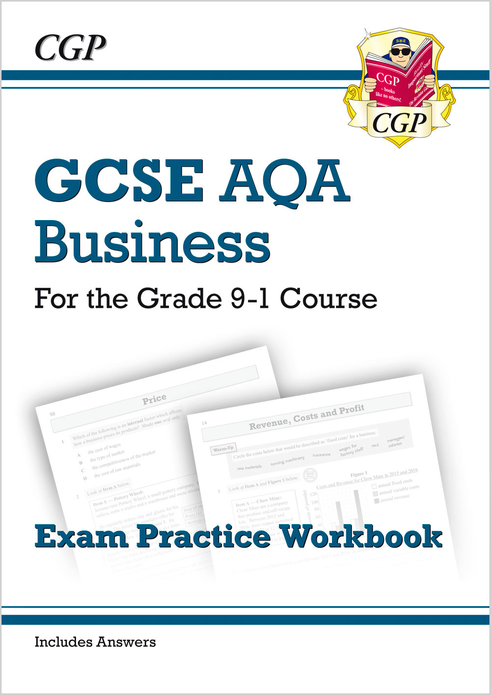 BUAQ41 - New GCSE Business AQA Exam Practice Workbook - for the Grade 9-1 Course (includes Answers)
