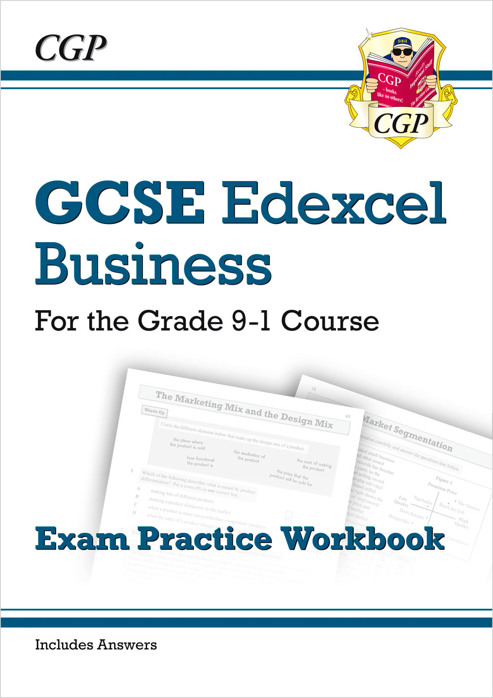 BUEQ41 - New GCSE Business Edexcel Exam Practice Workbook - for the Grade 9-1 Course (includes Answe