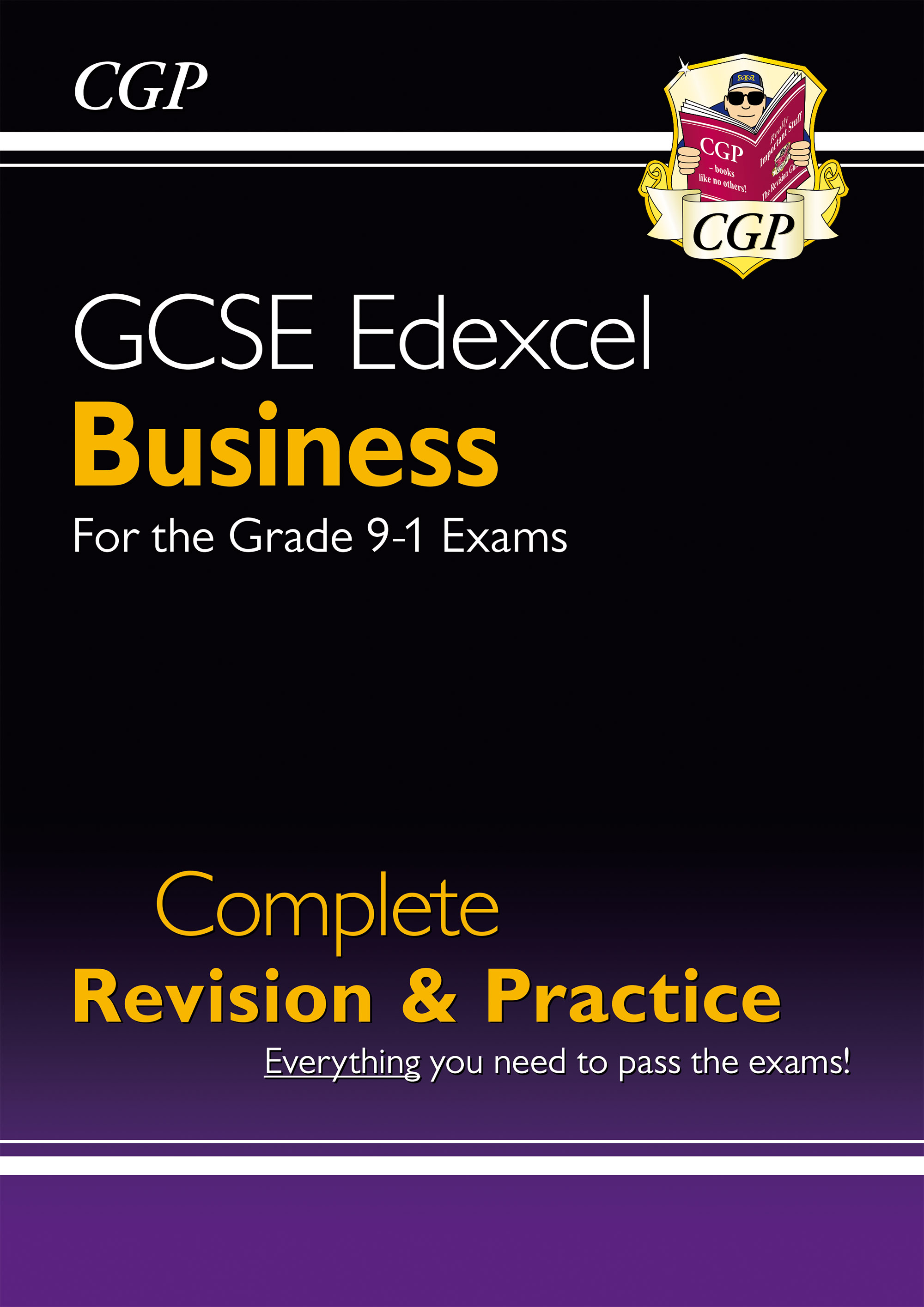 BUES41DK - New GCSE Business Edexcel Complete Revision and Practice - Grade 9-1 Course