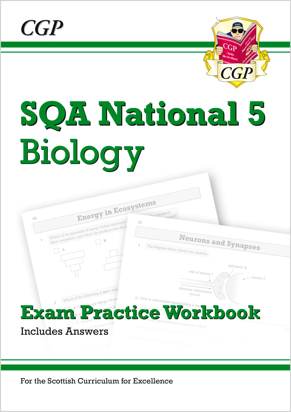 BZQ41 - National 5 Biology: SQA Exam Practice Workbook - includes Answers