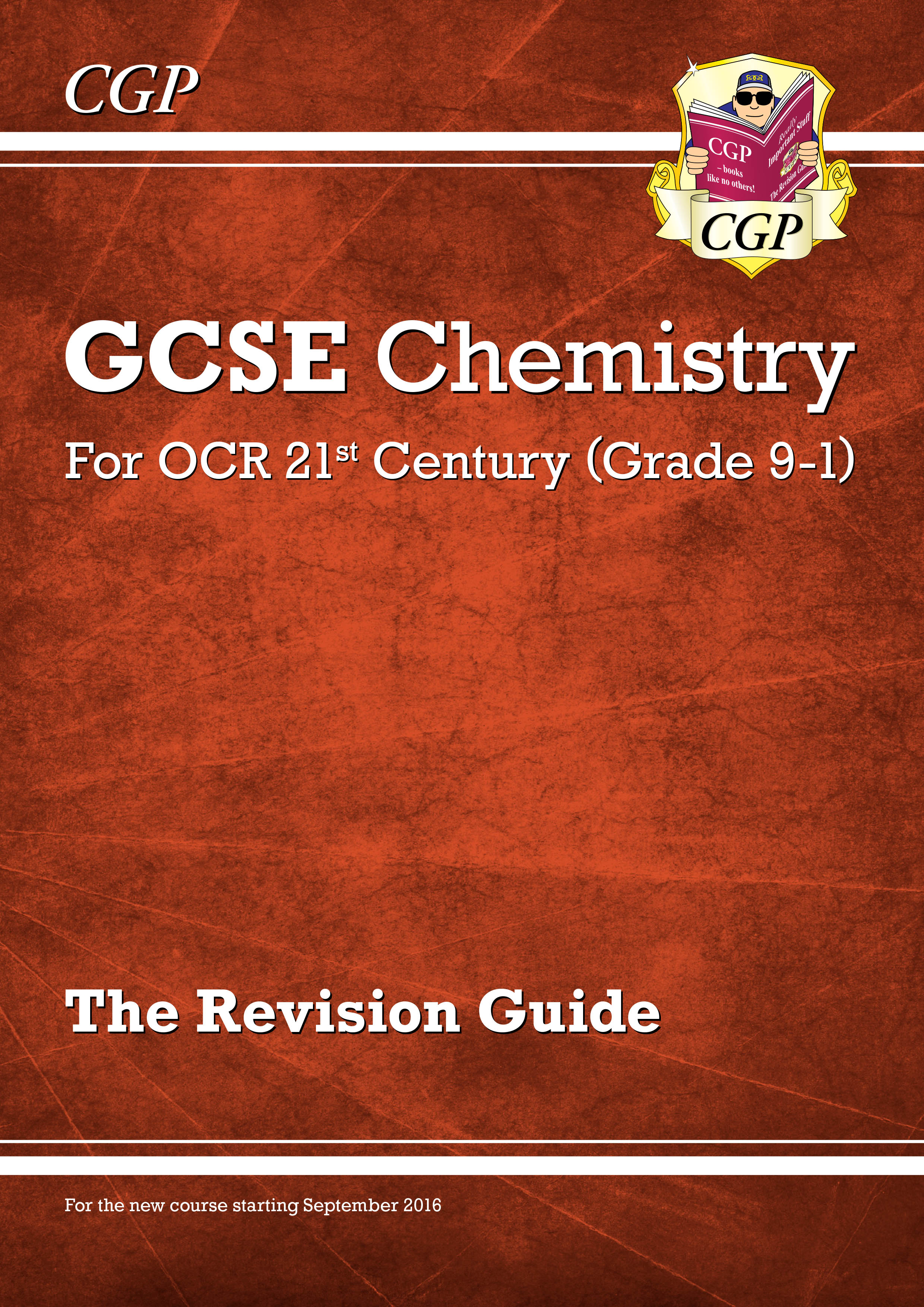 C2R45DK - New Grade 9-1 GCSE Chemistry: OCR 21st Century Revision Guide